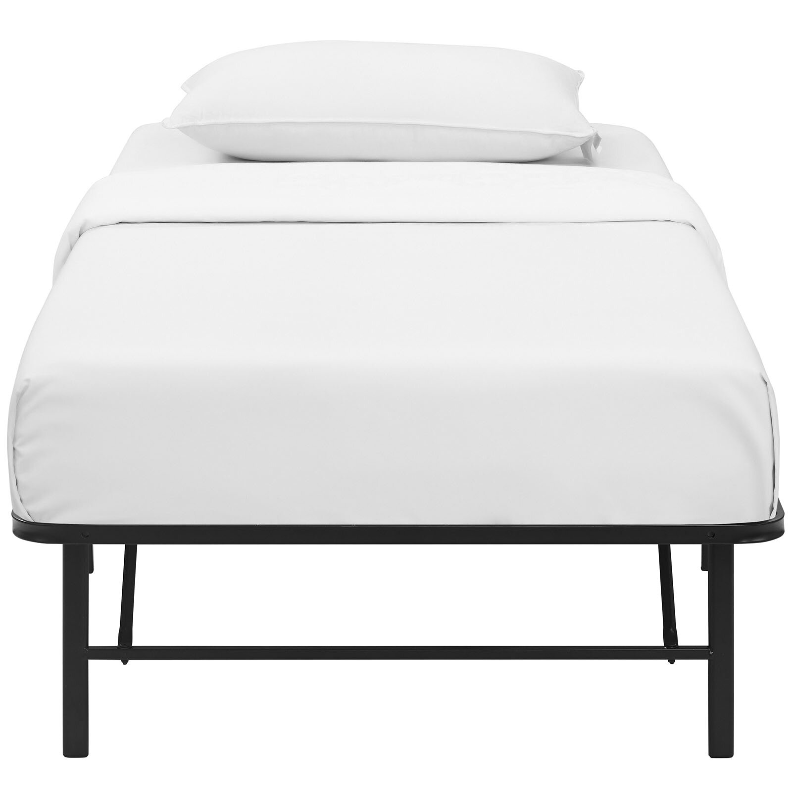 modway horizon steel bed frame