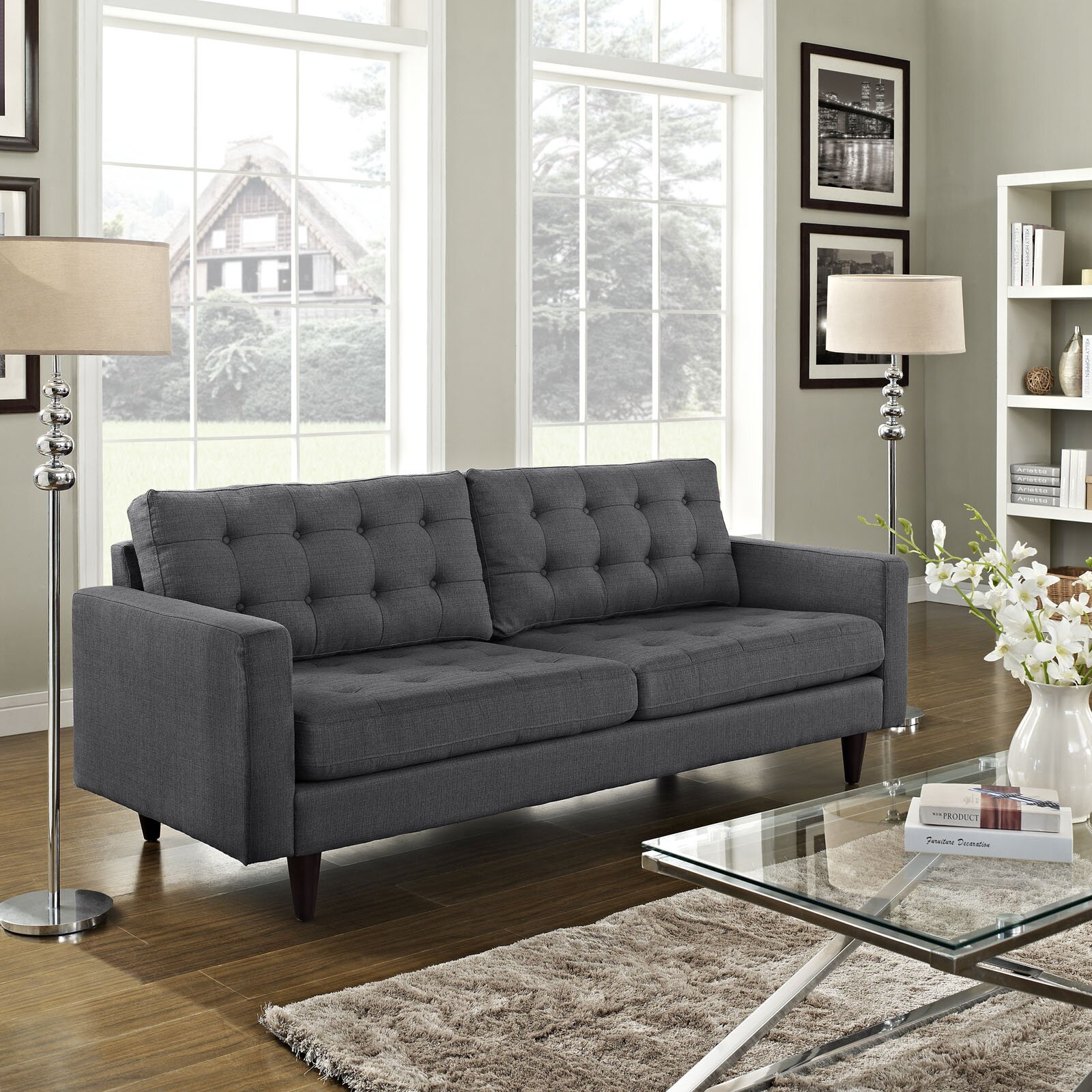 modern contemporary sofa - Rustic Modern Decor