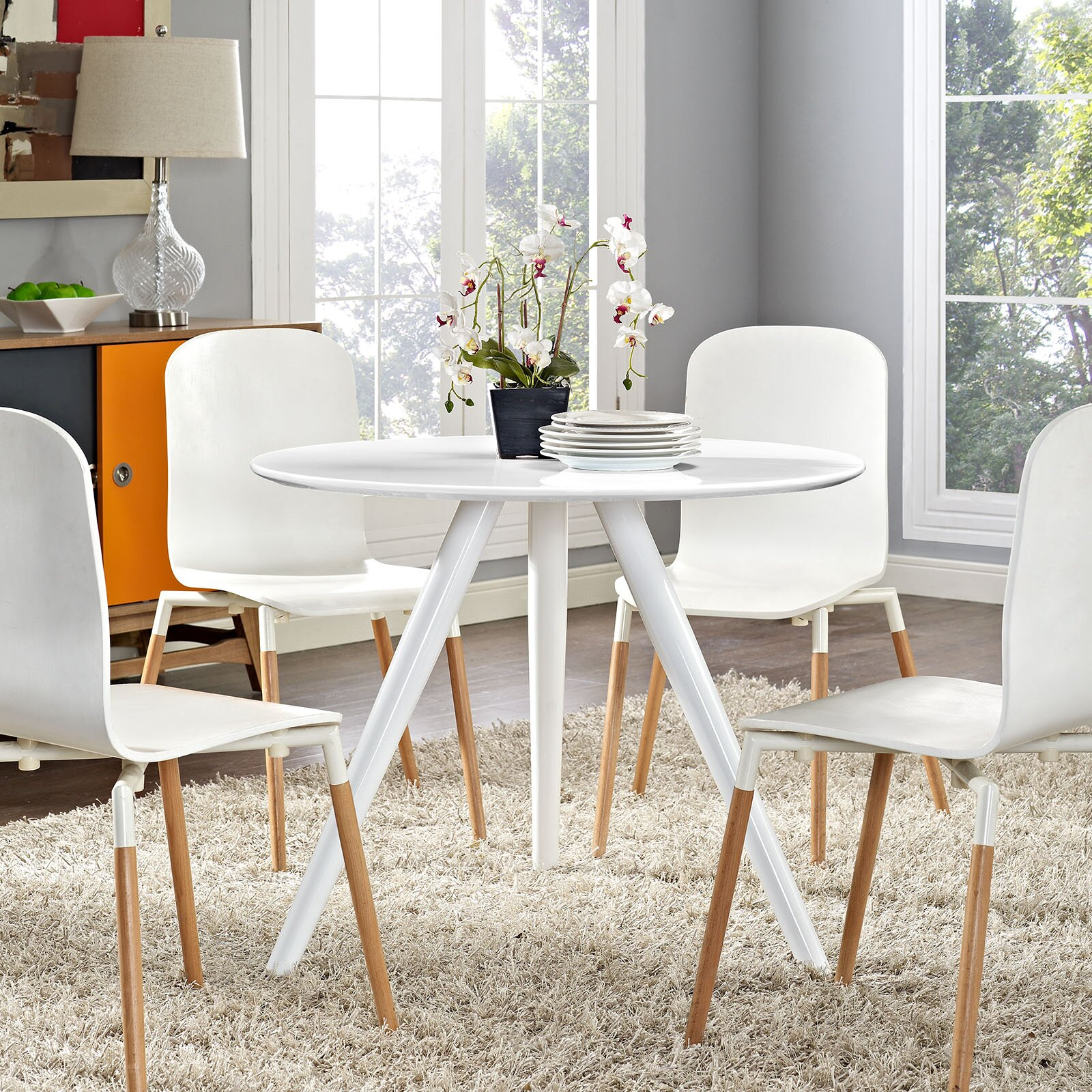 Orren Ellis Bellamy Dining Table Amp Reviews Wayfair Ca