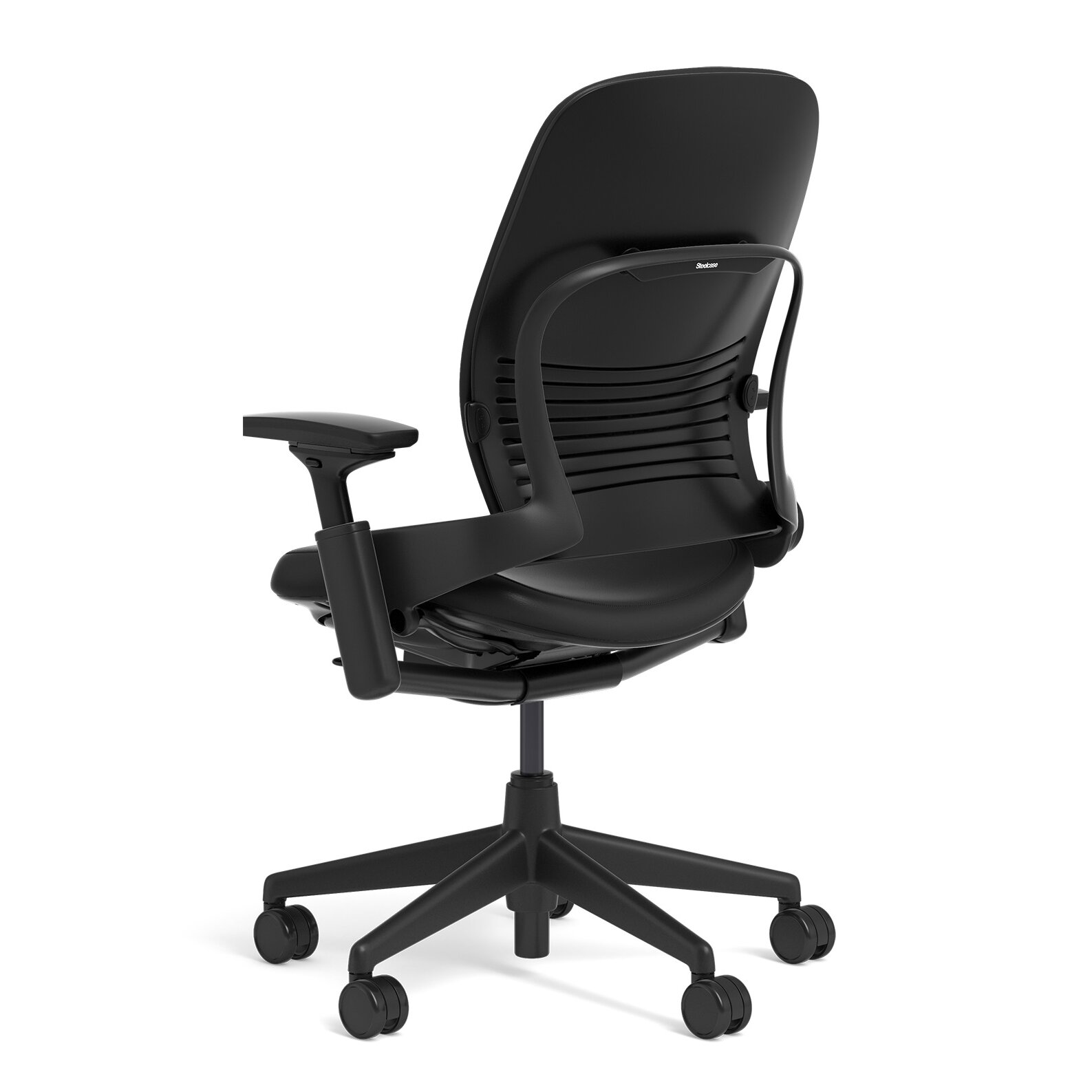 steelcase leap leather high back desk chair reviews
