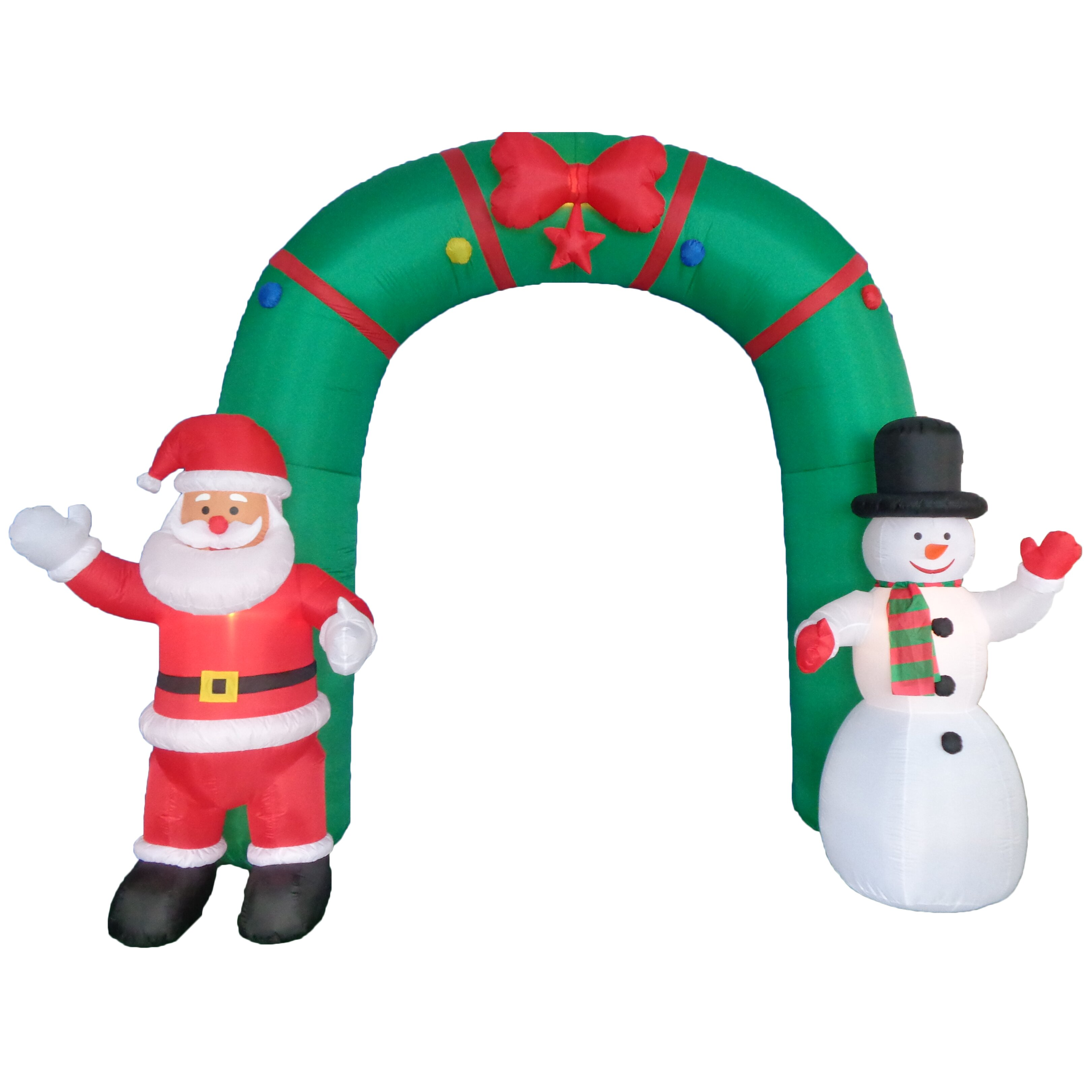 Bzb Goods Christmas Inflatable Archway Indoor Outdoor