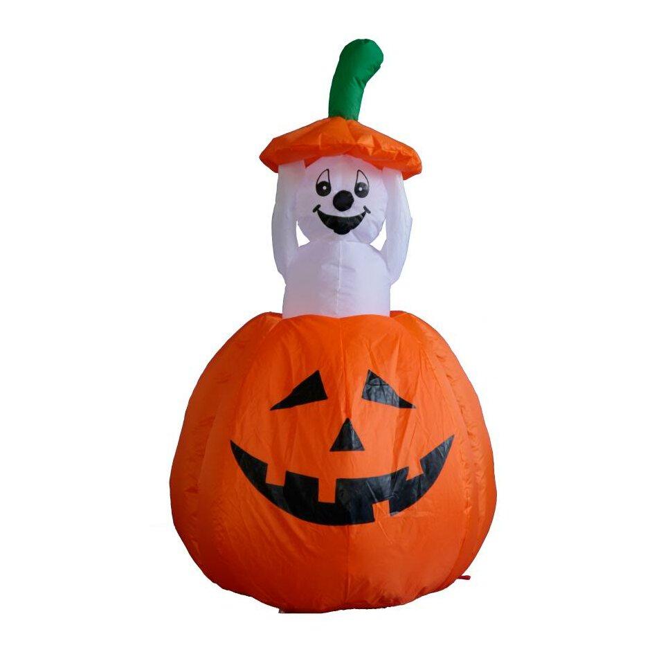 Bzb goods halloween inflatable pumpkin ghost decoration