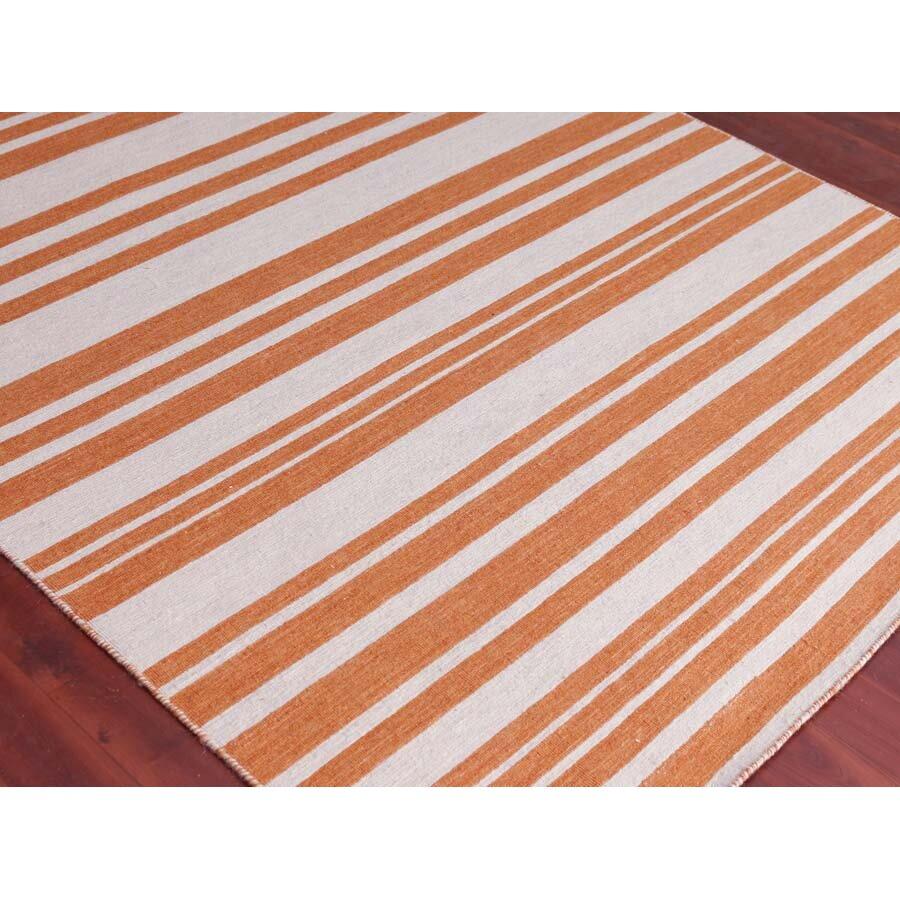 Amer Rugs Elana Flat Weave Orange Area Rug Wayfair