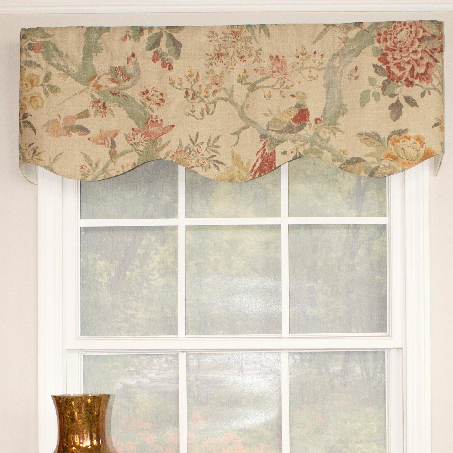 Valance Curtains For Living Room - Shayla provance curtain valance
