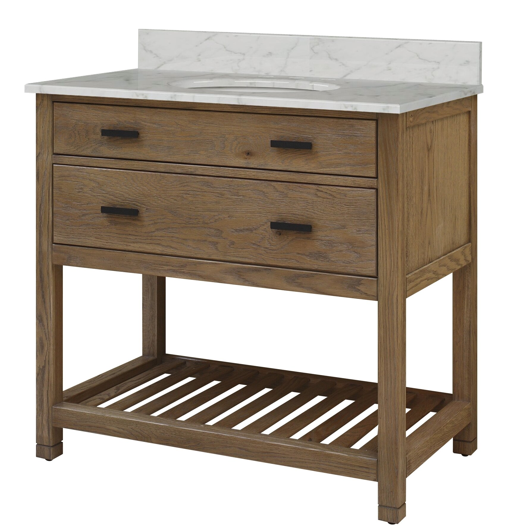 "Sagehill Toby 37"" Single Bathroom Vanity Set & Reviews ..."