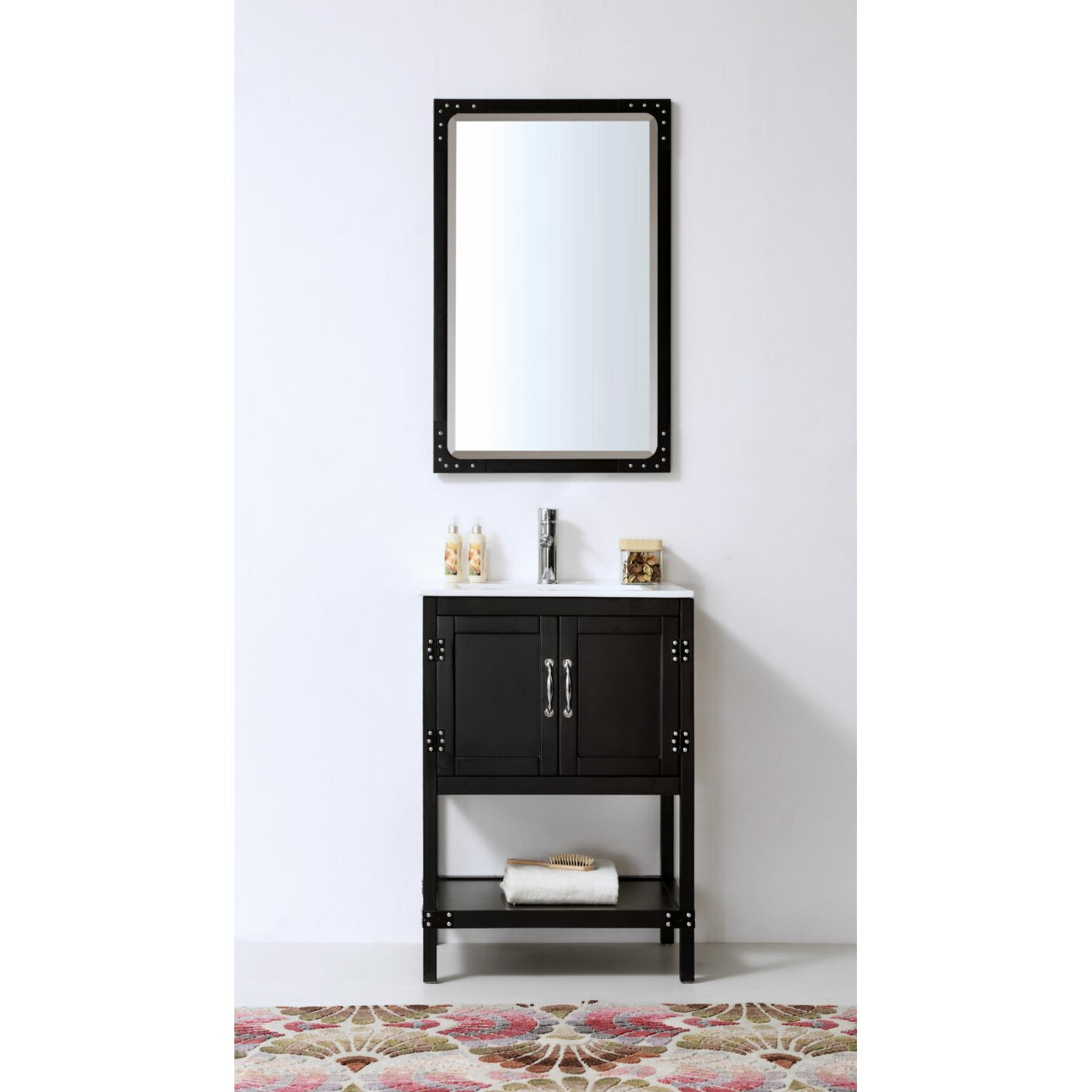 Legion Bathroom Vanity Legion Furniture 24 Bathroom Vanity Set Reviews Wayfair