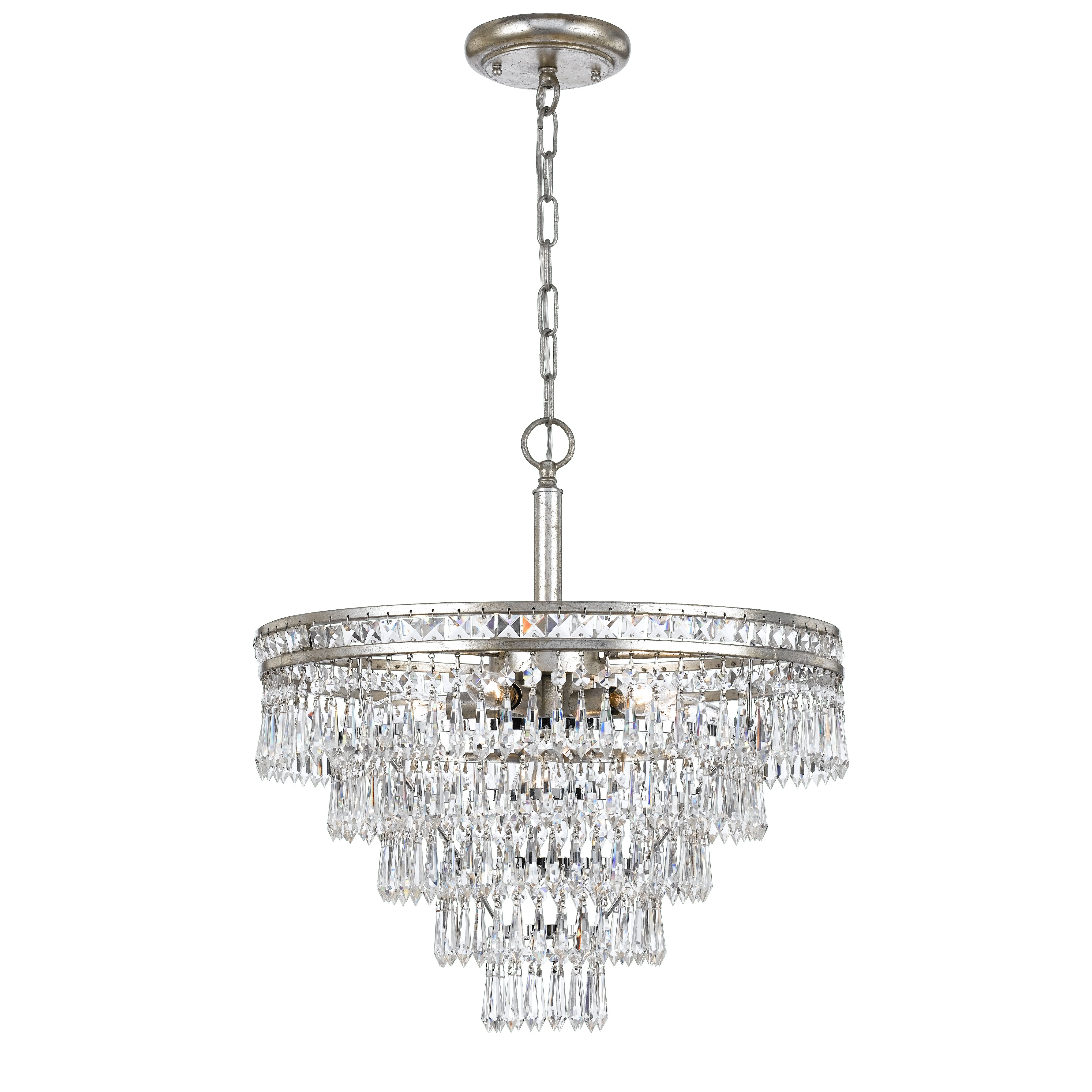 Crystorama Mercer 6Light Crystal Chandelier Reviews – Crystorama Chandeliers