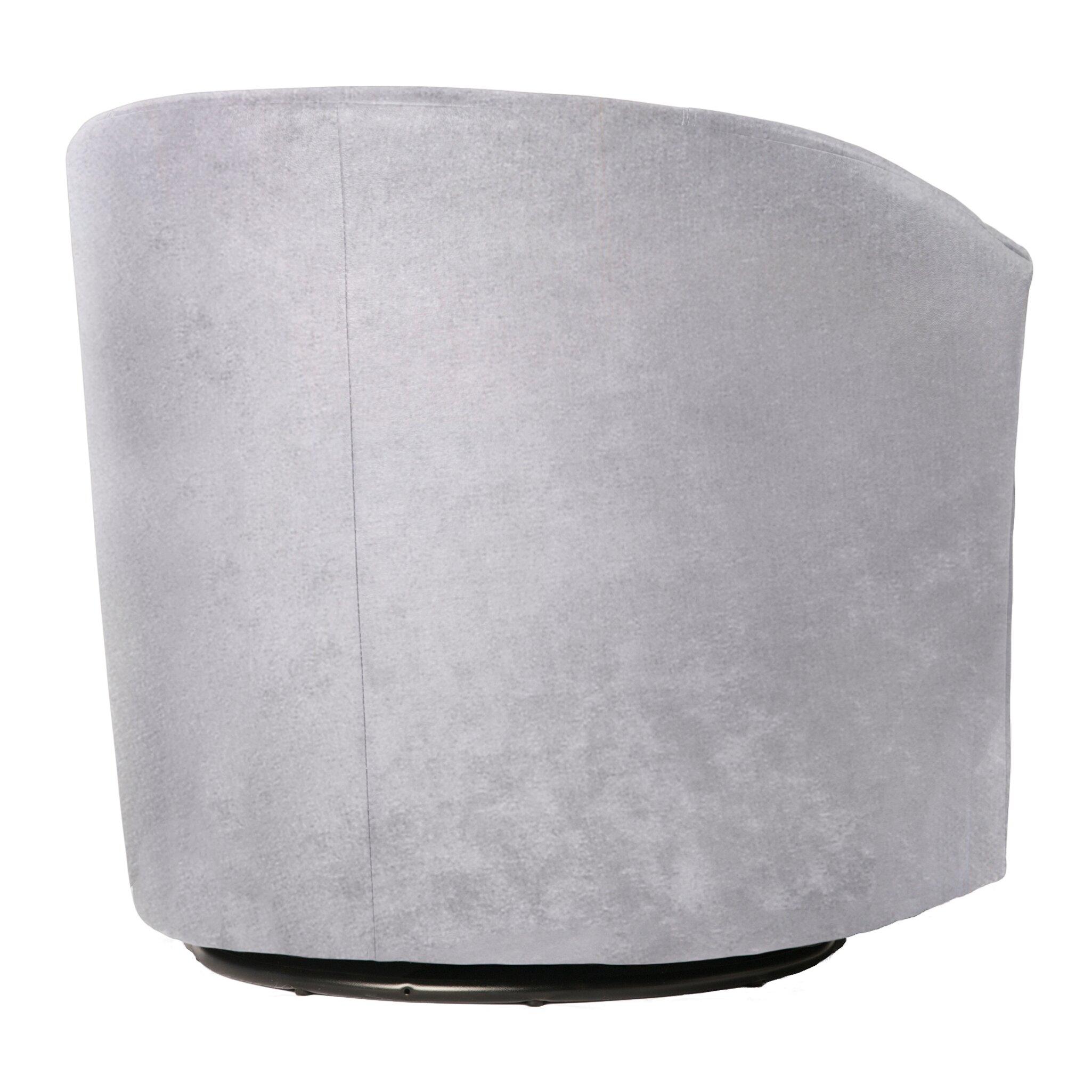 Comfort Pointe Elizabeth Swivel Barrel Chair Amp Reviews