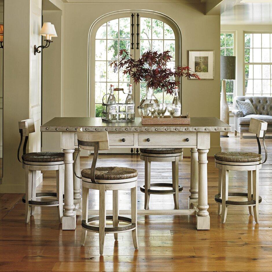 Kitchen Pub Table Sets Lexington Oyster Bay Pub Table Set Reviews Wayfair