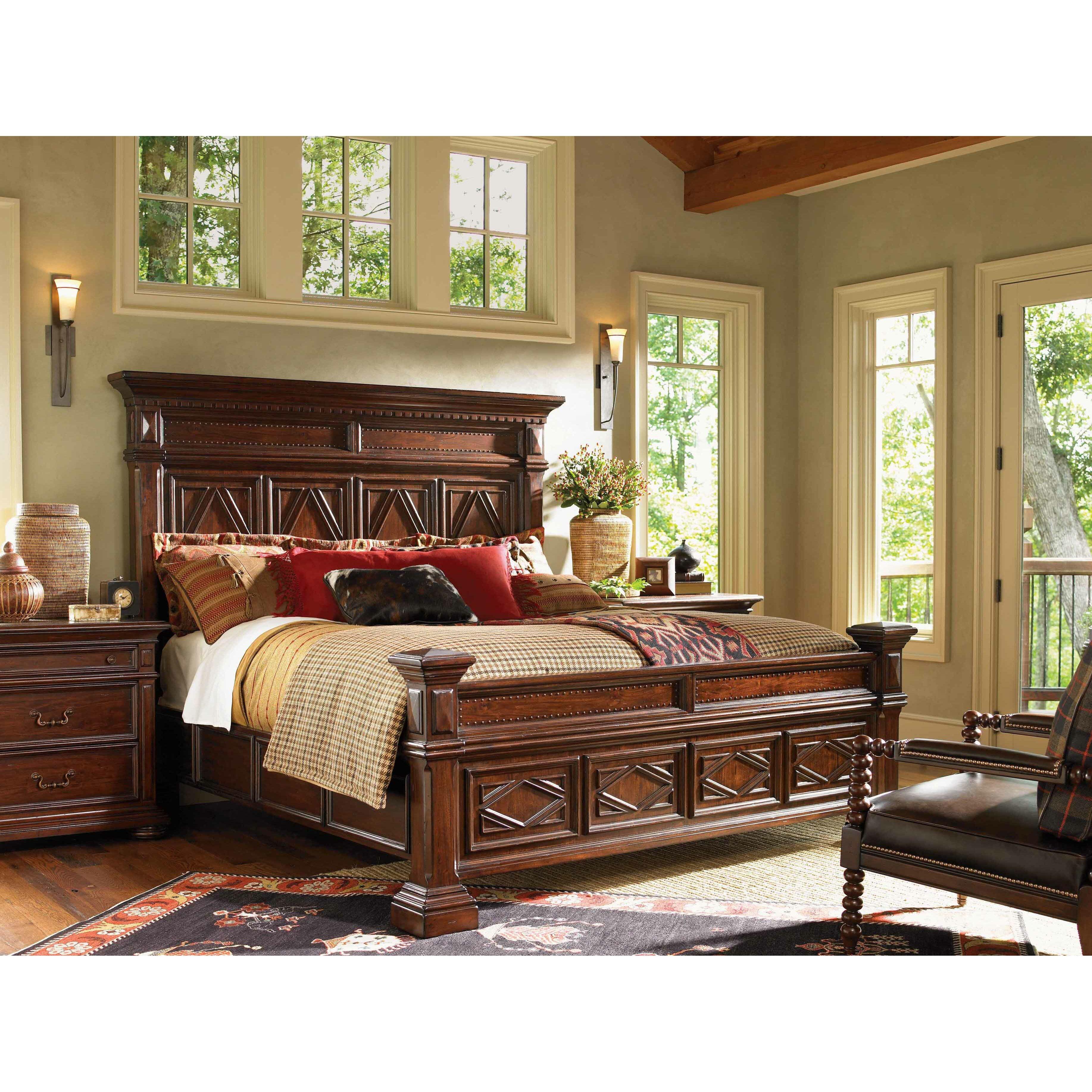 Lodge Bedroom Furniture Lexington Fieldale Lodge Panel Customizable Bedroom Set Reviews