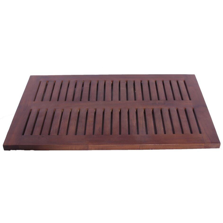 Floor mats used - Decoteak Classic Shower And Floor Mat