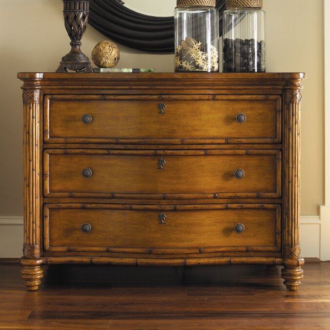 Bedroom Furniture Easter Sale: Tommy Bahama Home Island Estate Panel Customizable Bedroom