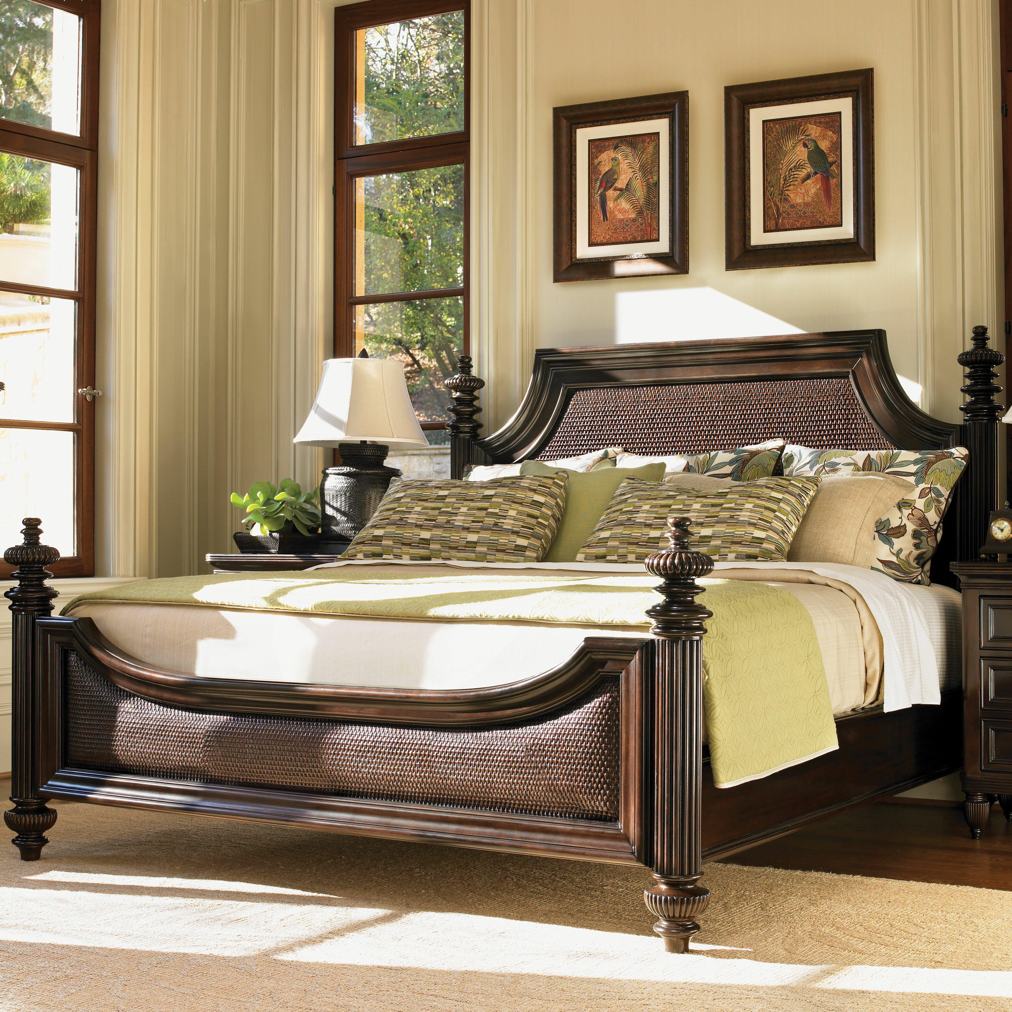Tommy Bahama Furniture: Tommy Bahama Home Royal Kahala Panel Customizable Bedroom