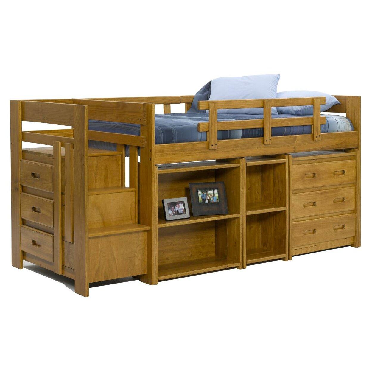 Wayfair Twin Low Loft Bed With Storage