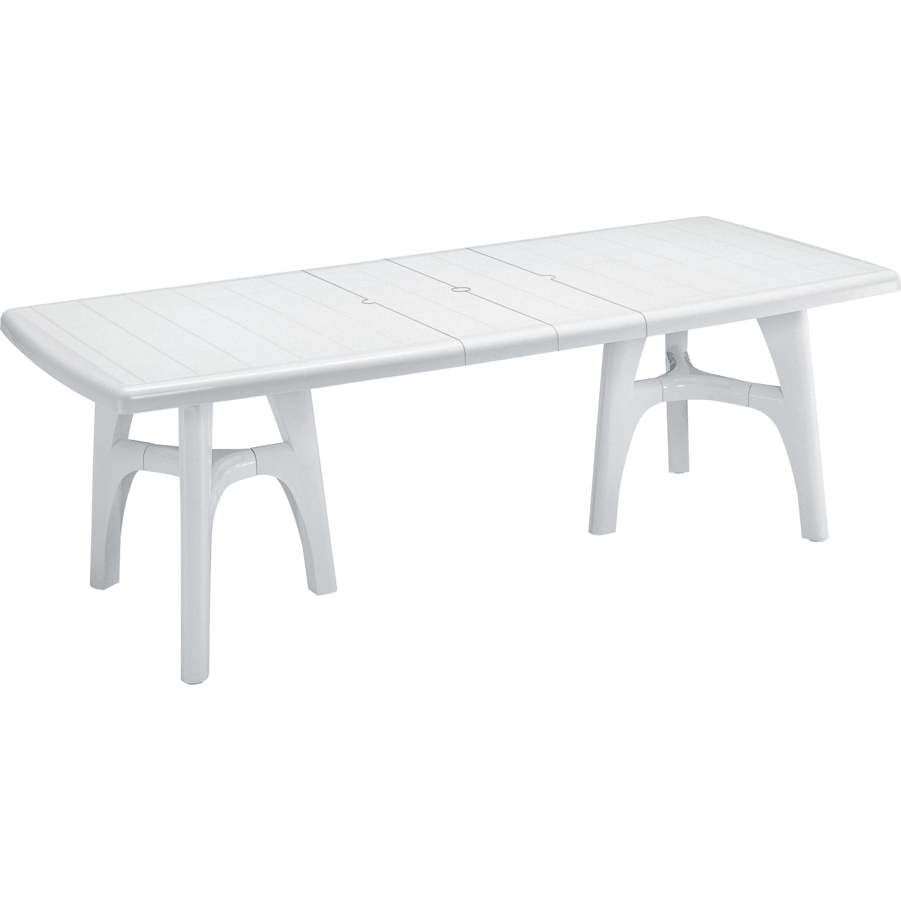 Extending Outdoor Dining Table Scab President Tris Extending Outdoor Dining Table Reviews