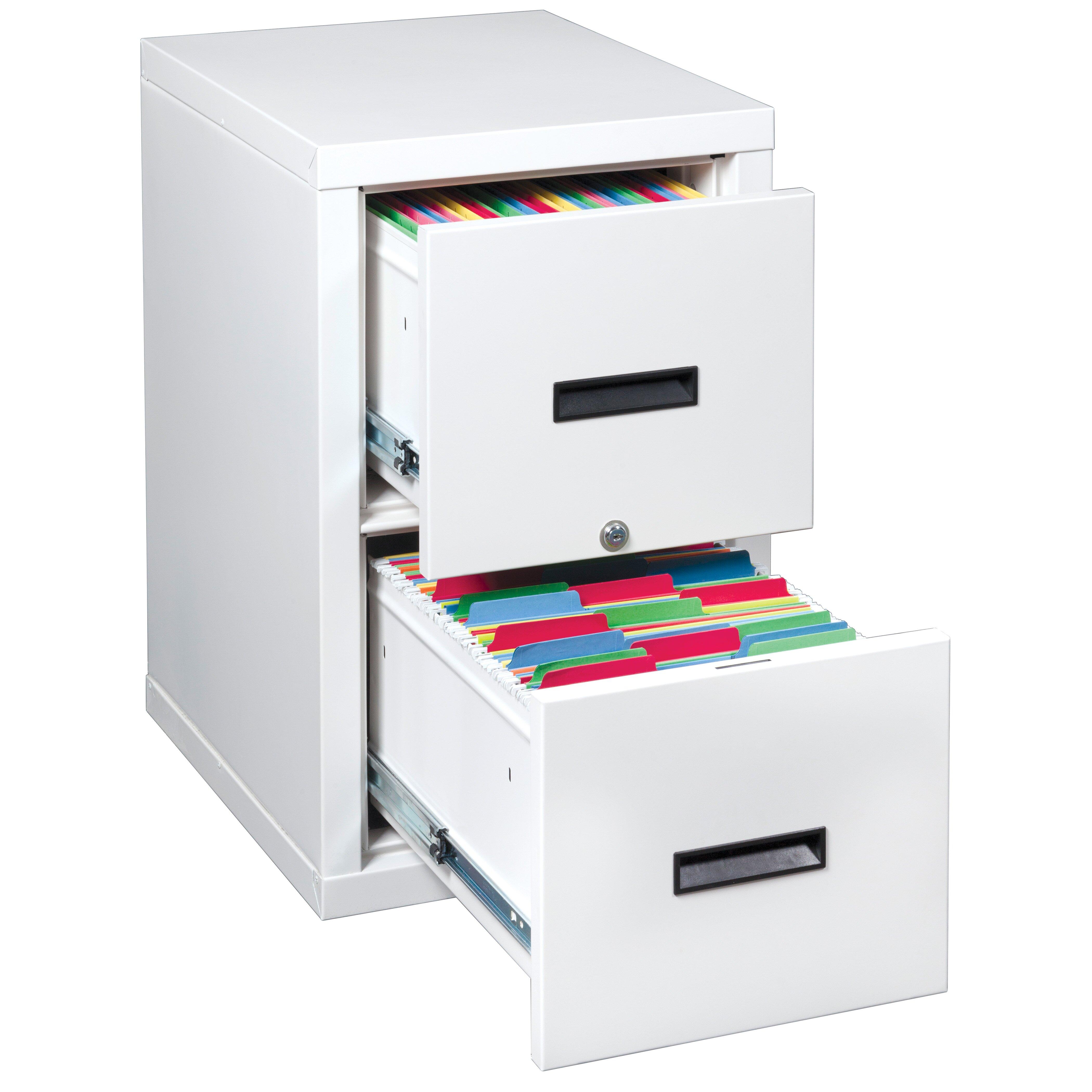 FireKing FireShield 2 Drawer Light Weight Fireproof Filing Cabinet