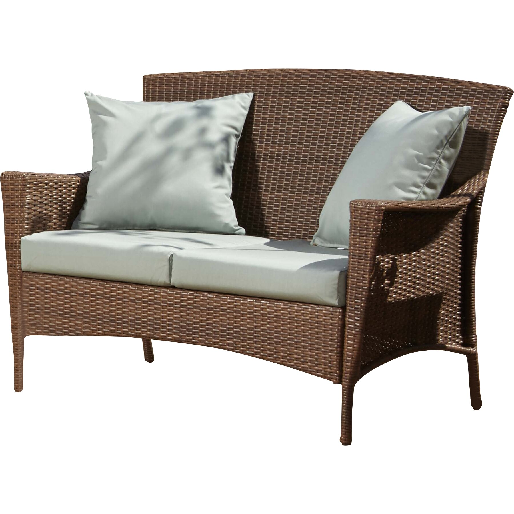 Panama Jack Key Biscayne Loveseat with Cushions & Reviews