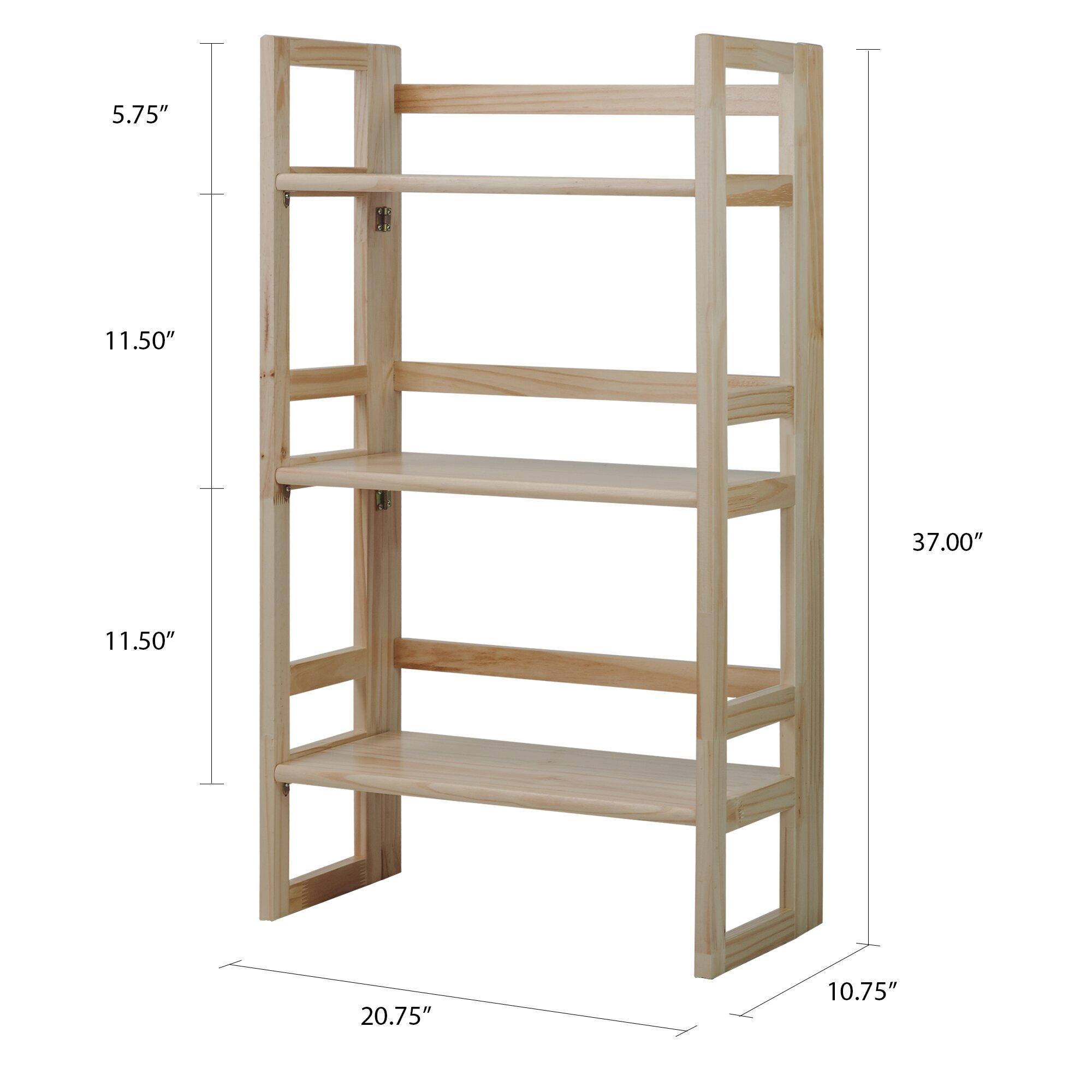Online Get Folding Wood Bookcase Aliexpress Com Alibaba Group
