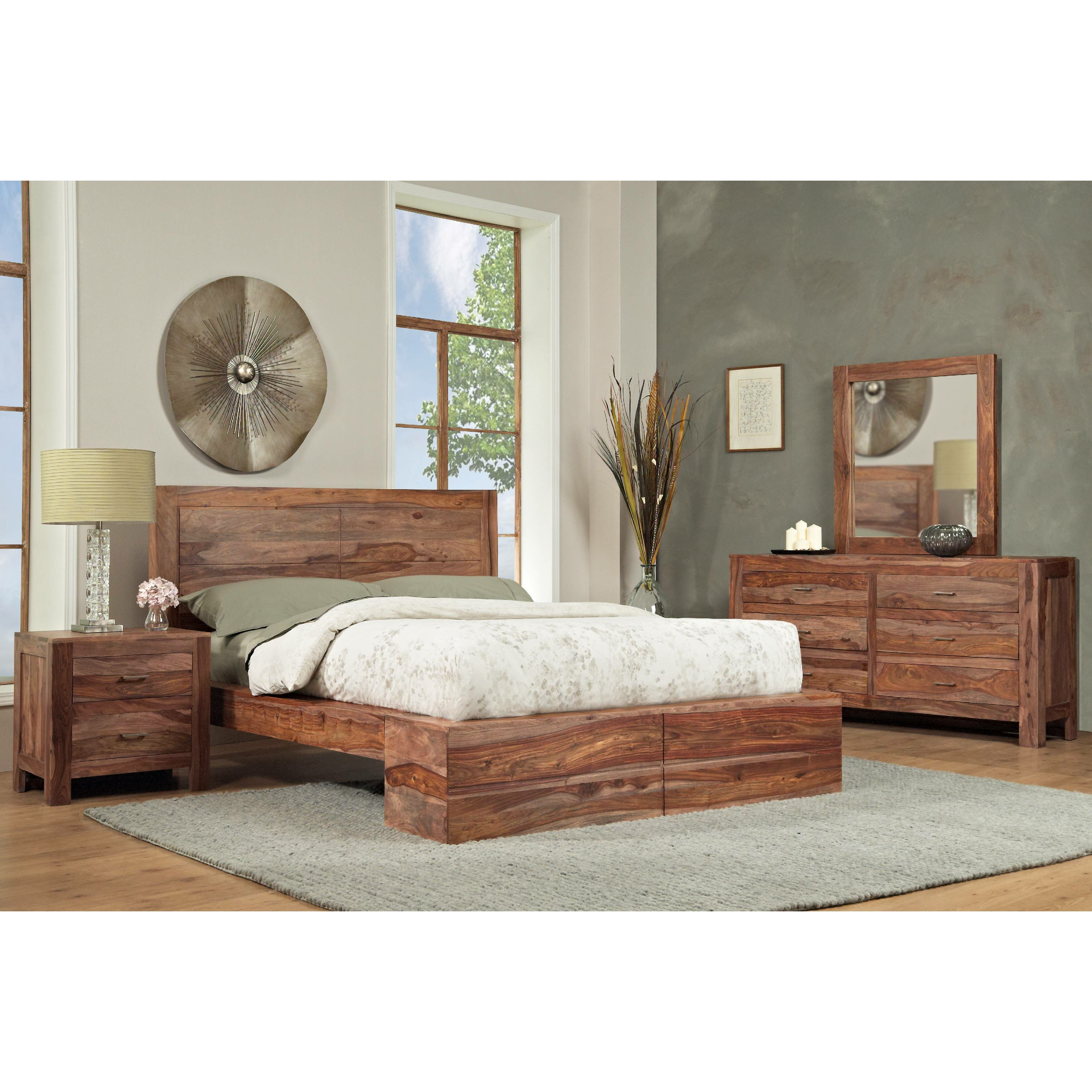 Mfi Bedroom Furniture Modus Atria Platform Customizable Bedroom Set Reviews Wayfair