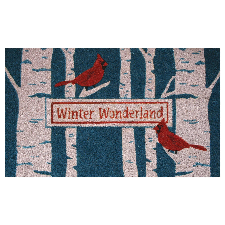 Robert Allen Home And Garden Cardinal Birch Doormat Reviews Wayfair