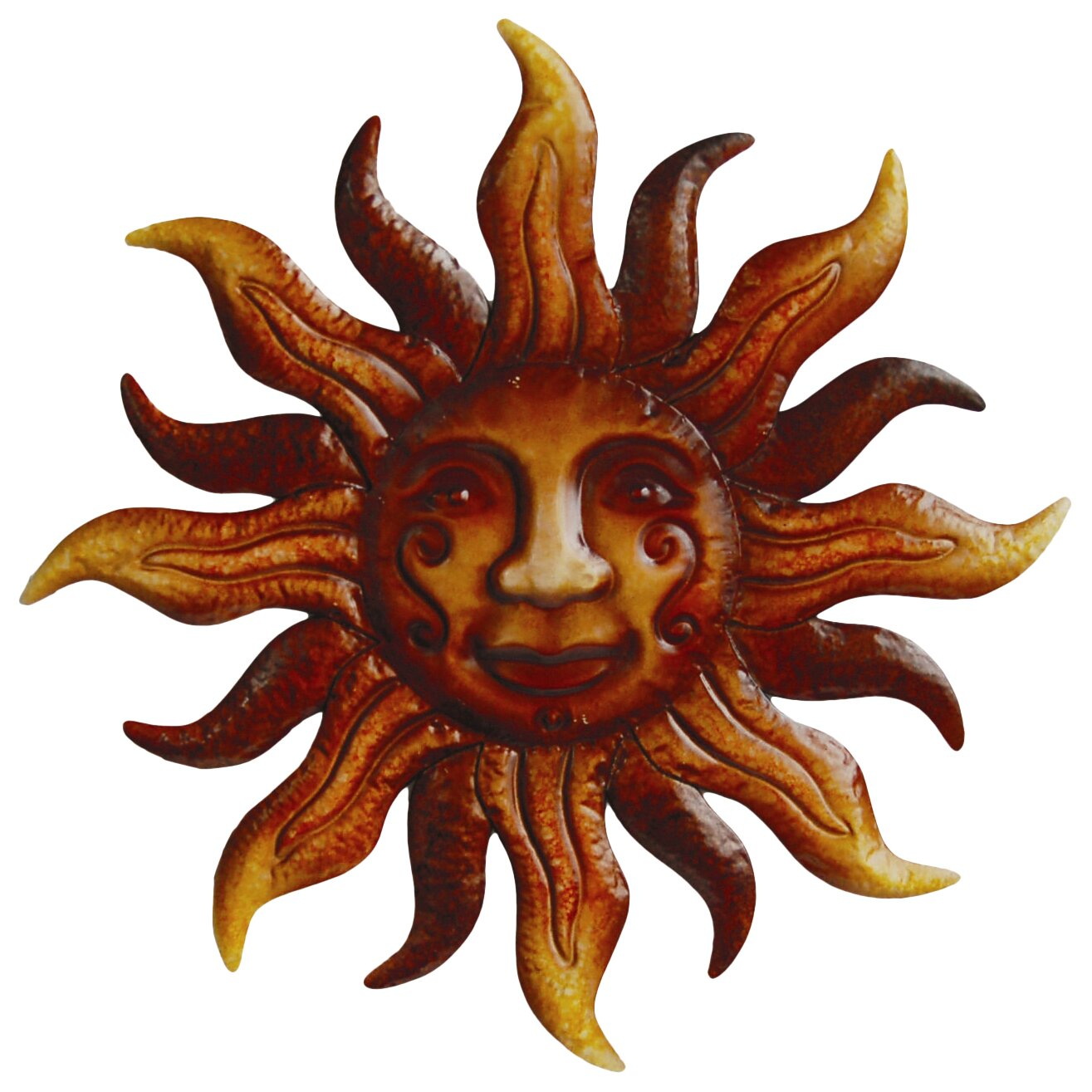 Arcadia Garden Products Sunface Wall Decor