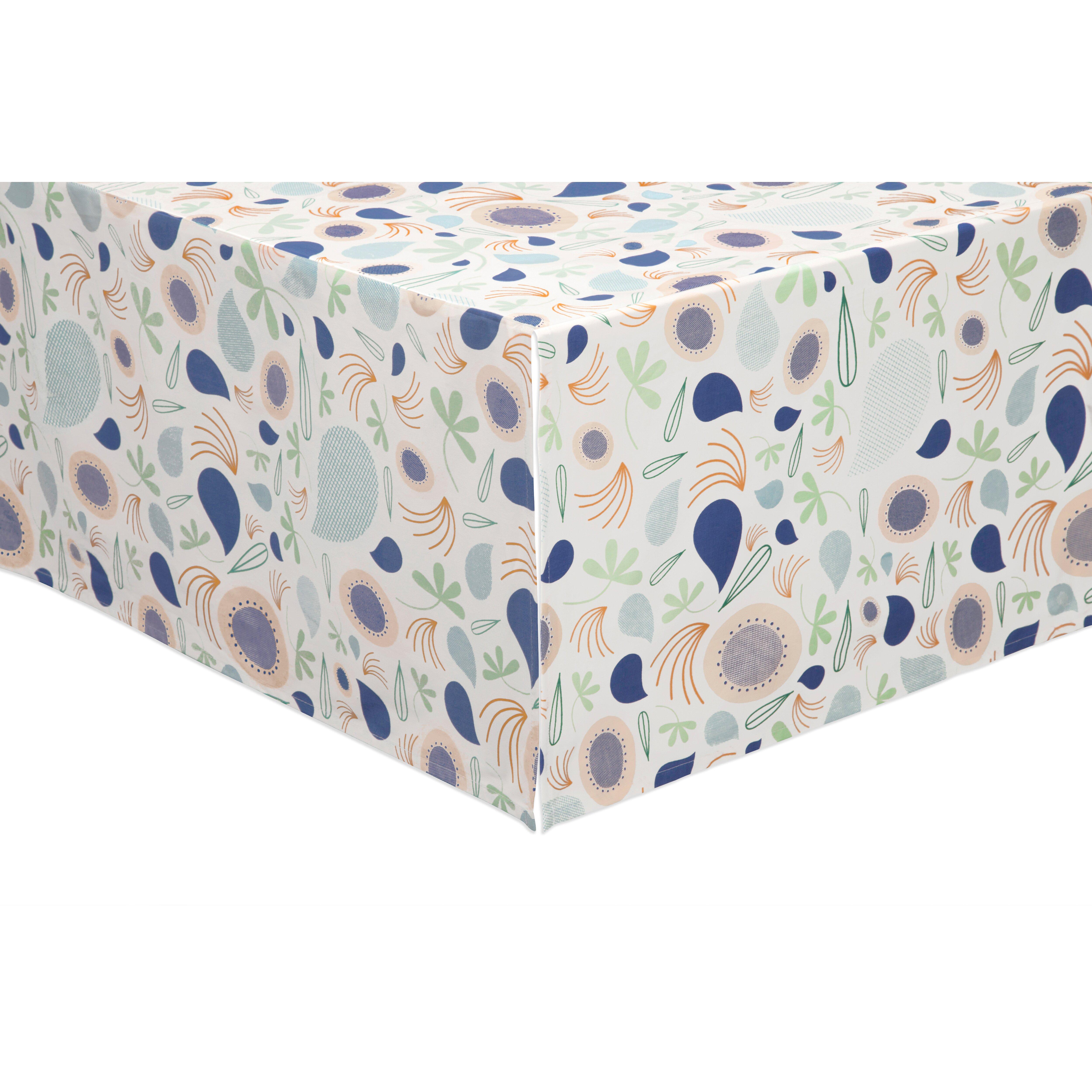 Crib for sale gatineau - Babyletto Fleeting Flora 6 Piece Crib Bedding Set