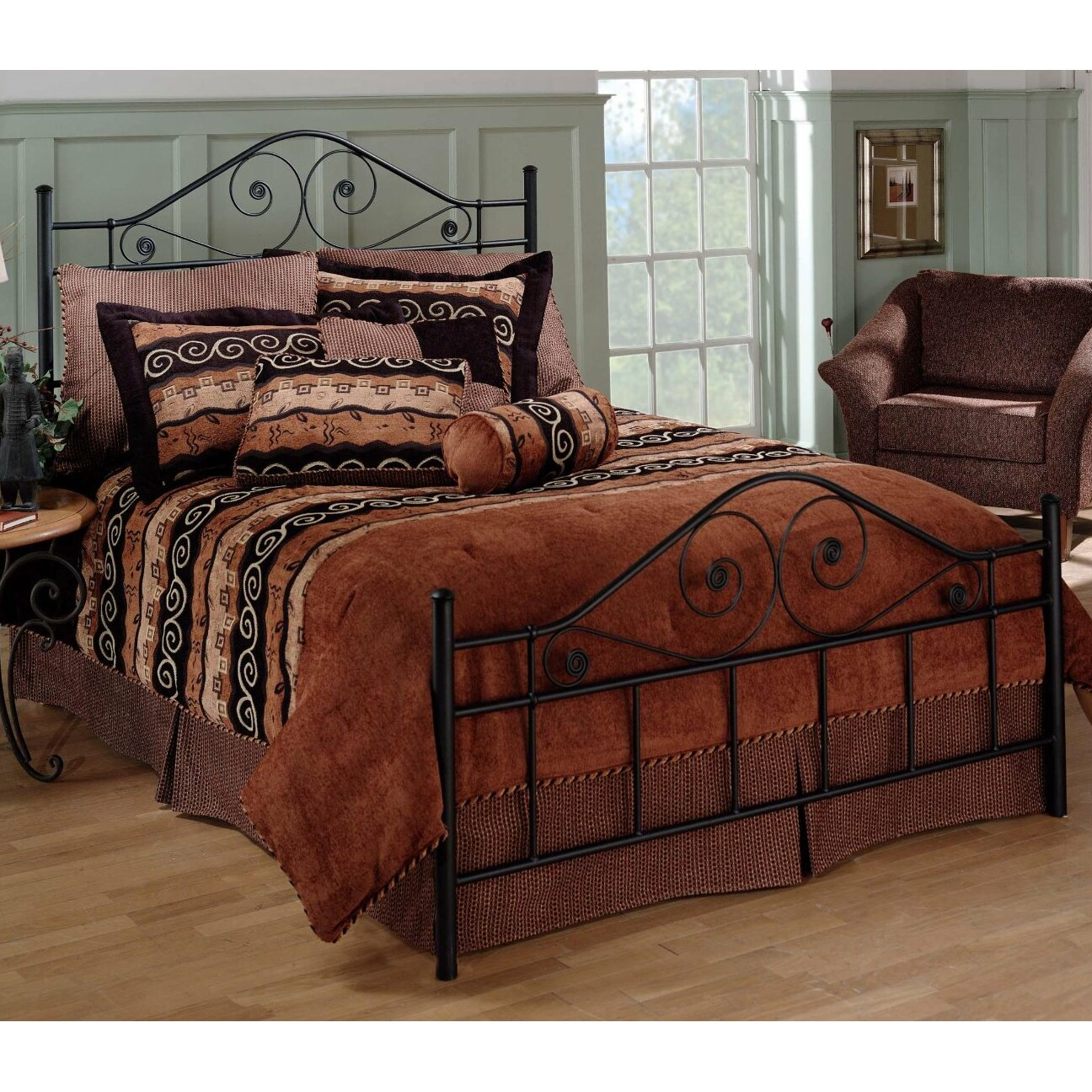 Magnussen Harrison Bedroom Furniture Harrison Wood King Panel Bed Headboard Bedding Bed Linen