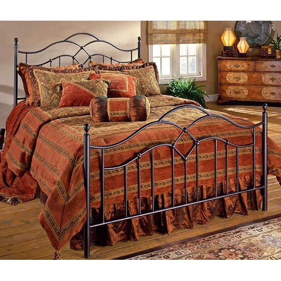 Hillsdale oklahoma panel bed reviews wayfair for Furniture 2 day shipping