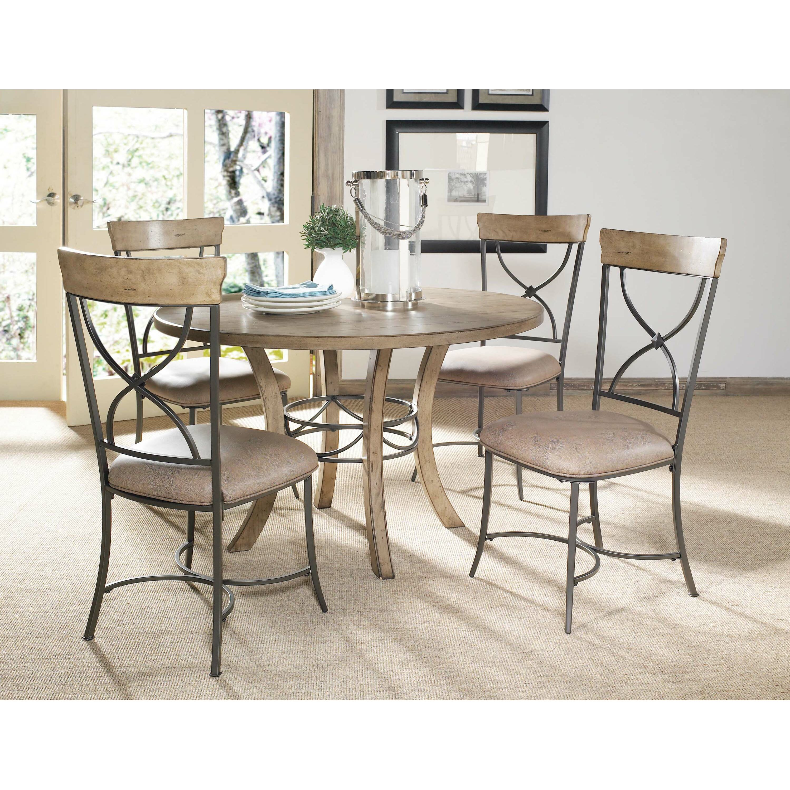 Hillsdale Charleston 5 Piece Dining Set Reviews – Hillsdale Dining Chairs
