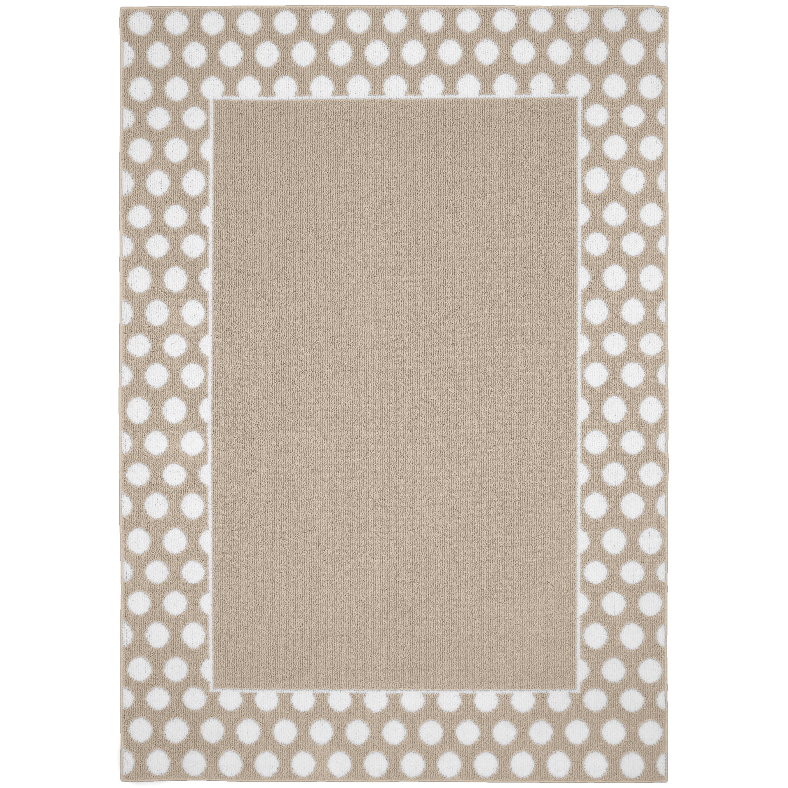 Tan And White Rug Home Decor