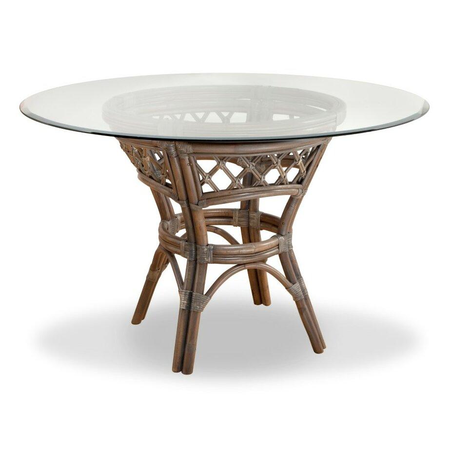 south sea rattan nadine dining table reviews wayfair