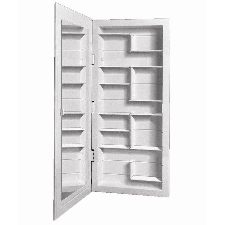 Zaca spacecab media 16 x 36 recessed medicine cabinet for Zaca bathroom cabinets