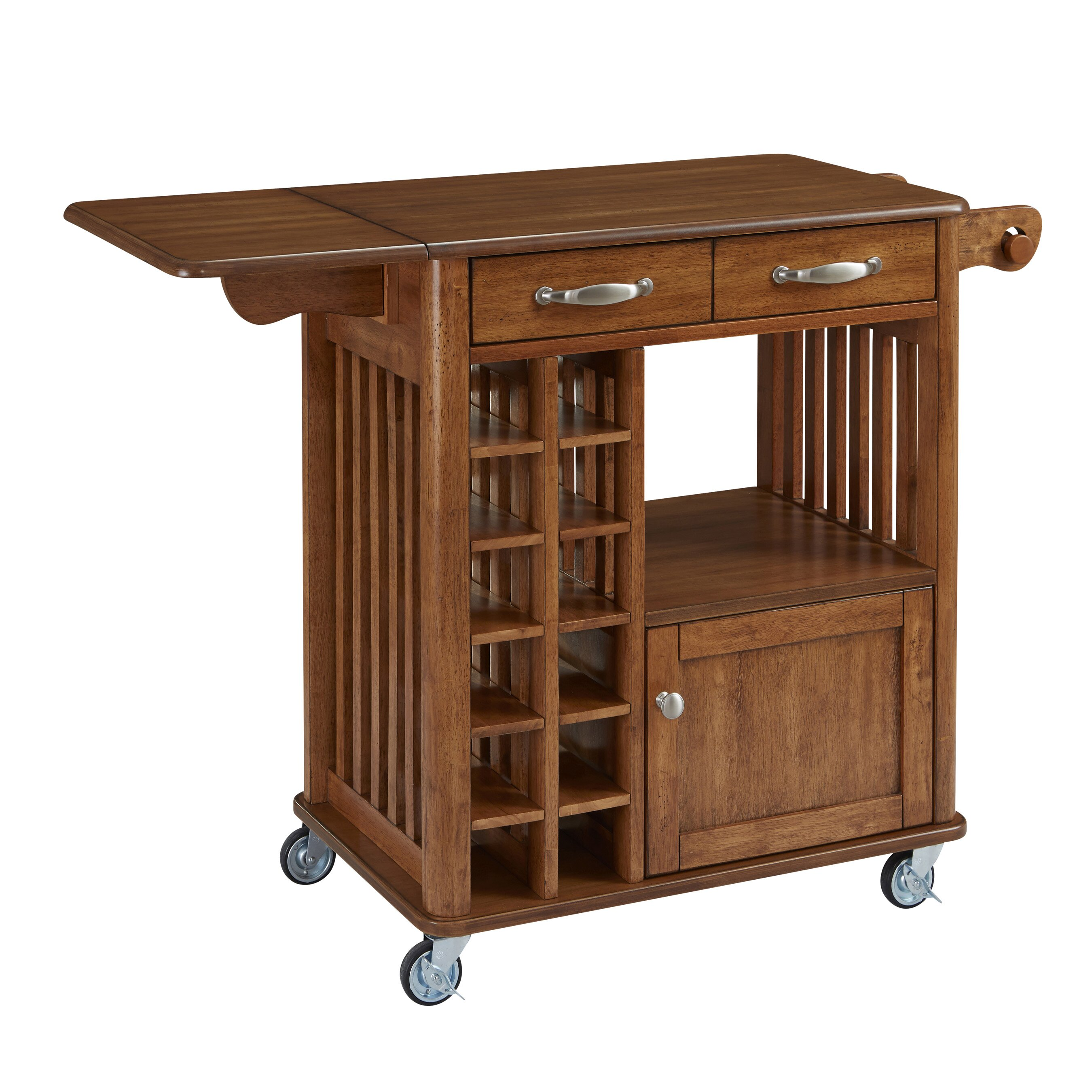 Home styles kitchen cart reviews wayfair for Homestyles com