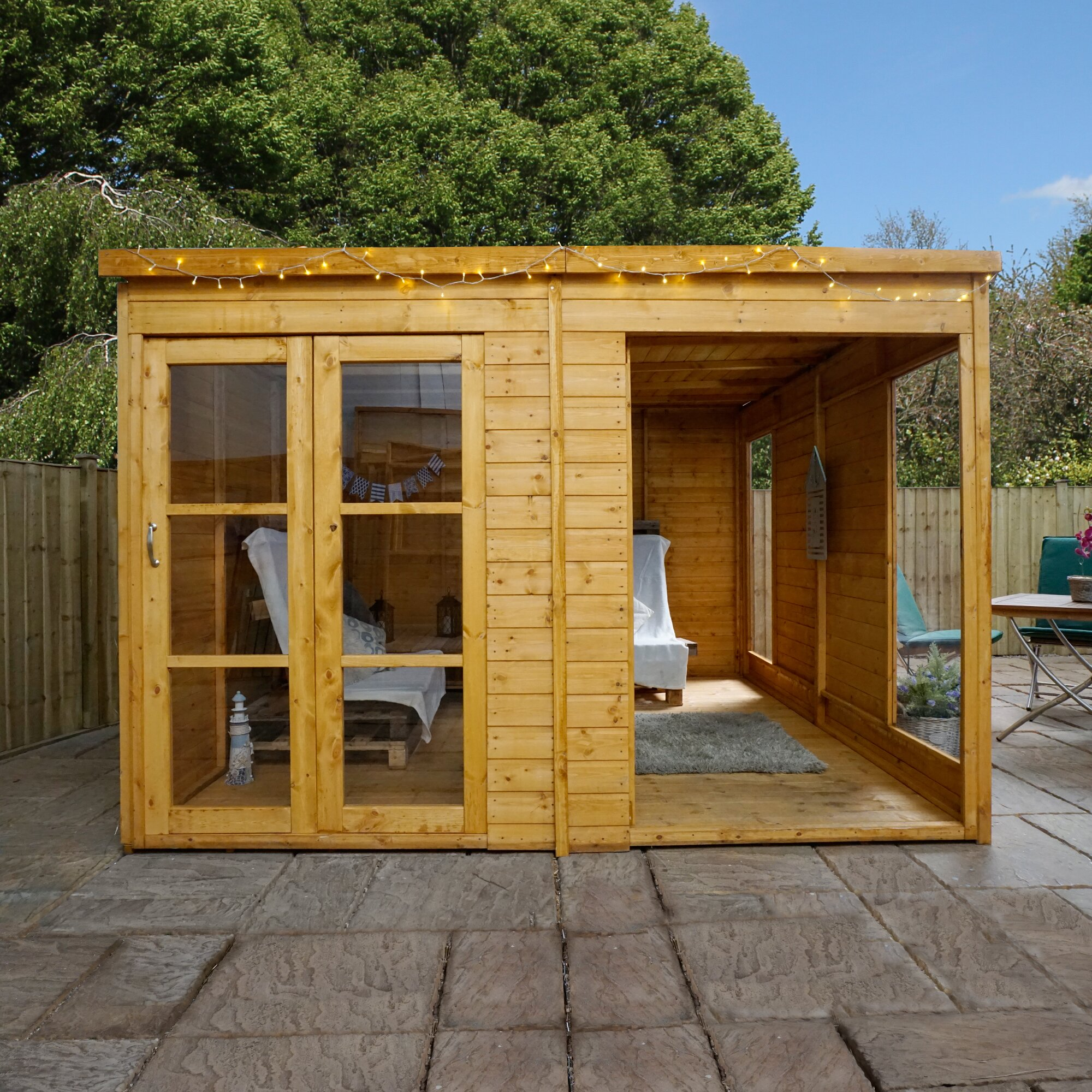 Mercia Garden Products 10 x 10 Garden Room Summerhouse