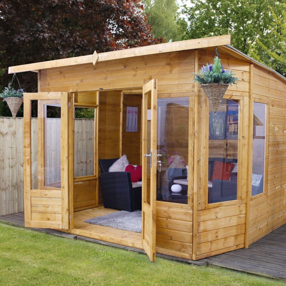 Mercia Garden Products 10 X 8 Helios Summerhouse Amp Reviews