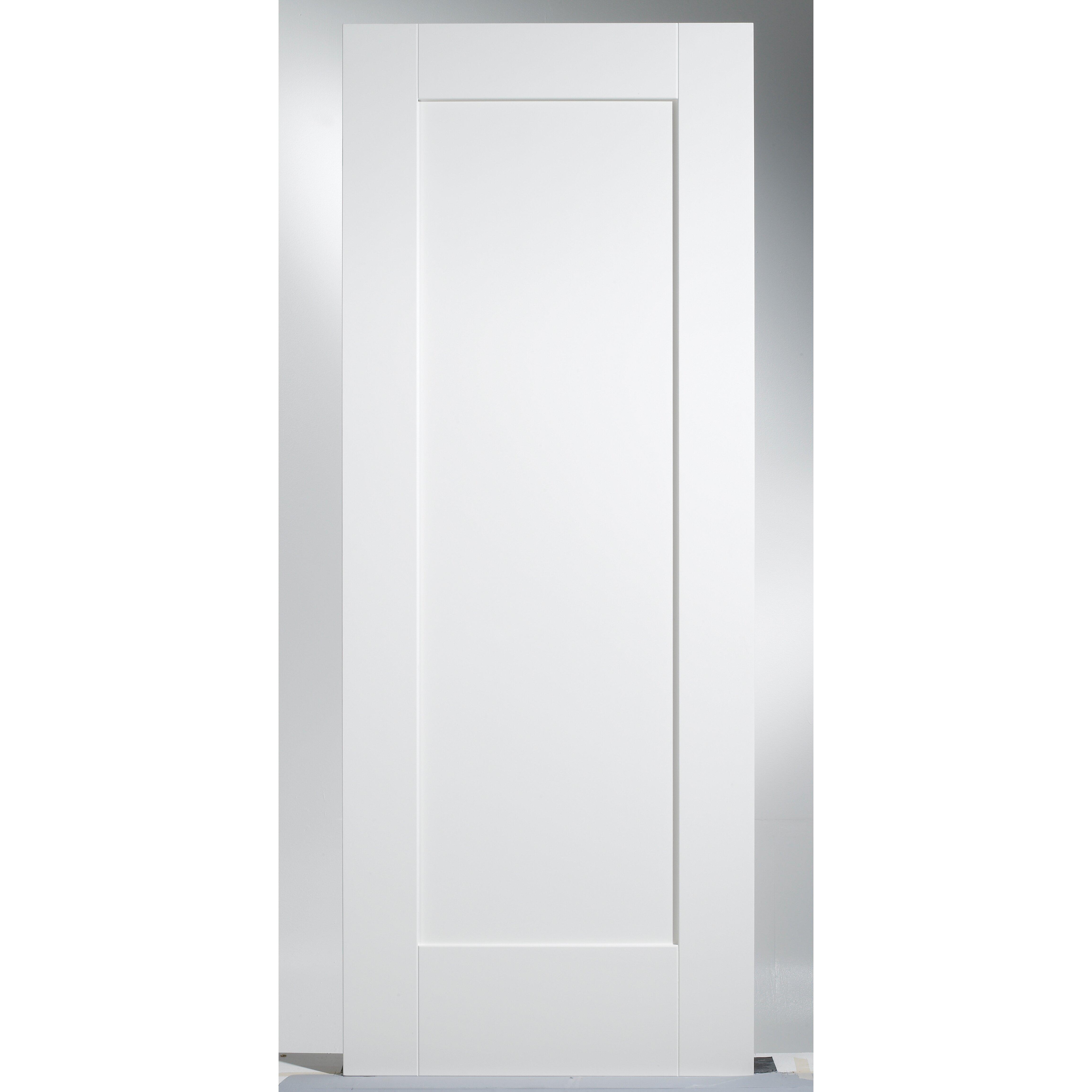 Lpd Doors Shaker Mdf 1 Panel White Internal Door Reviews
