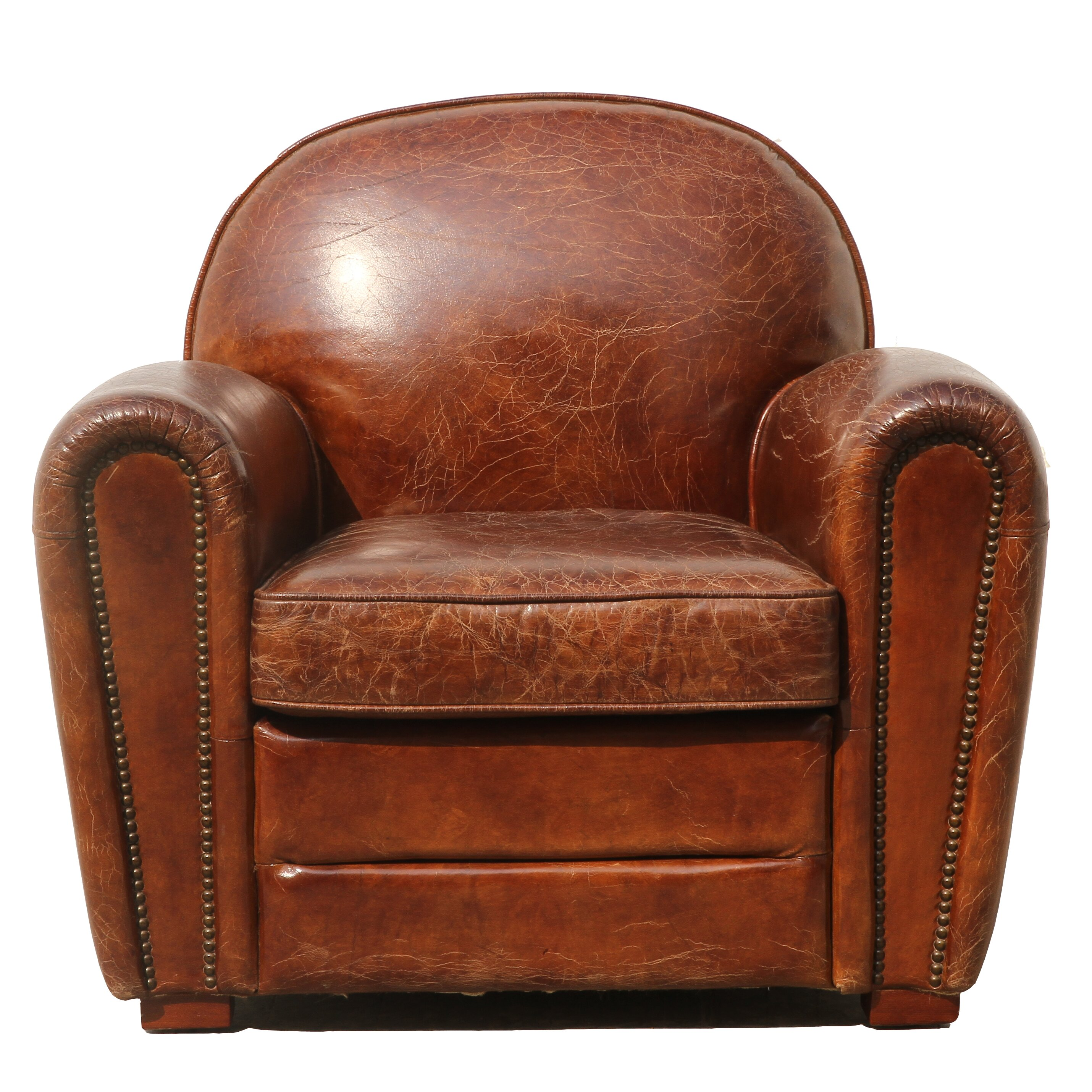 Paris Leather Memory Foam Chair Sofa Bed