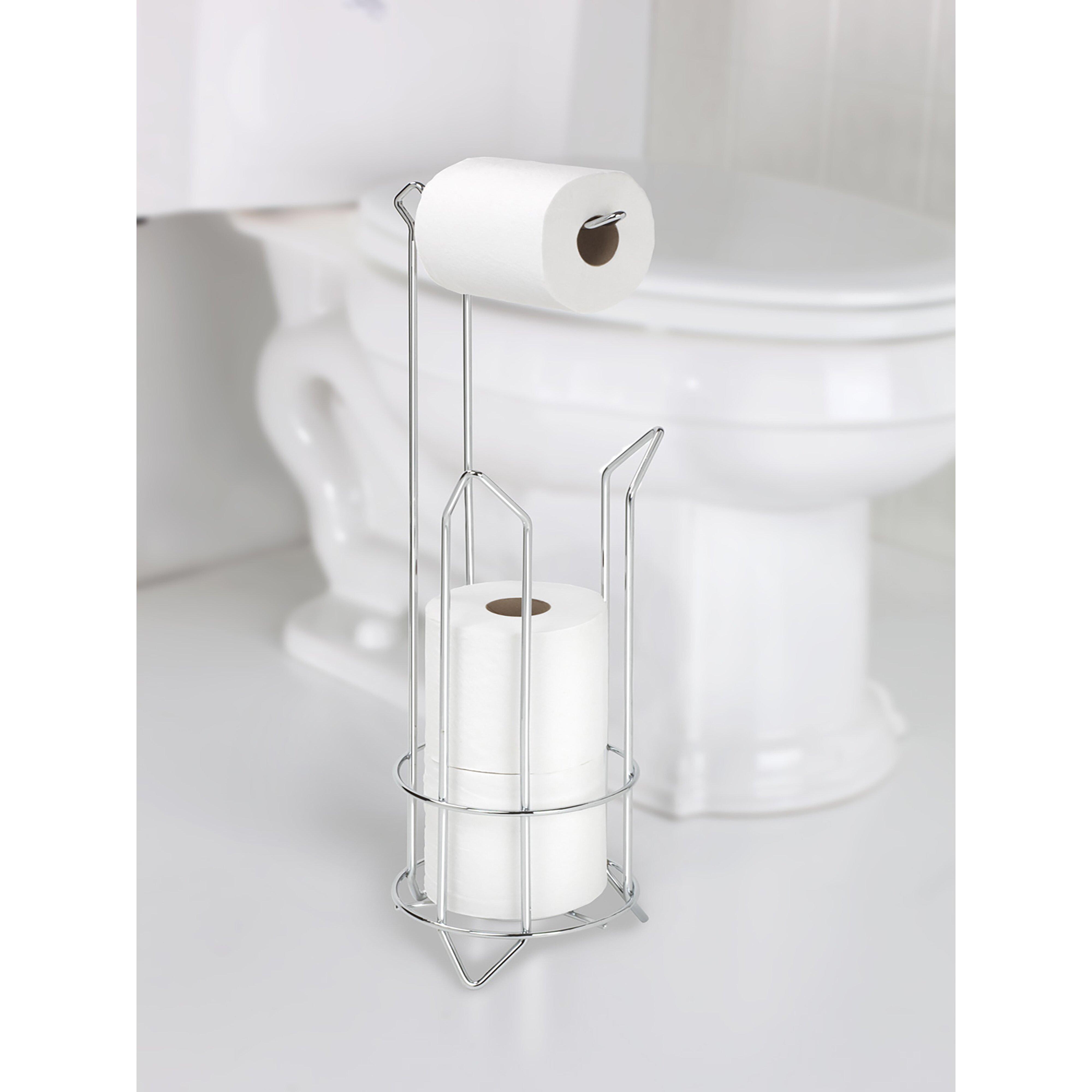 Kennedy international bath bliss free standing toilet - Bathroom toilet paper holder free standing ...