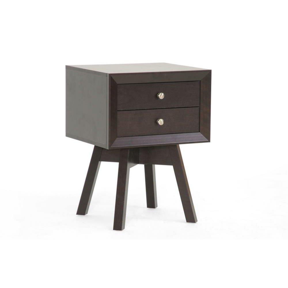 wholesale interiors baxton studio lars side table reviews wayfair