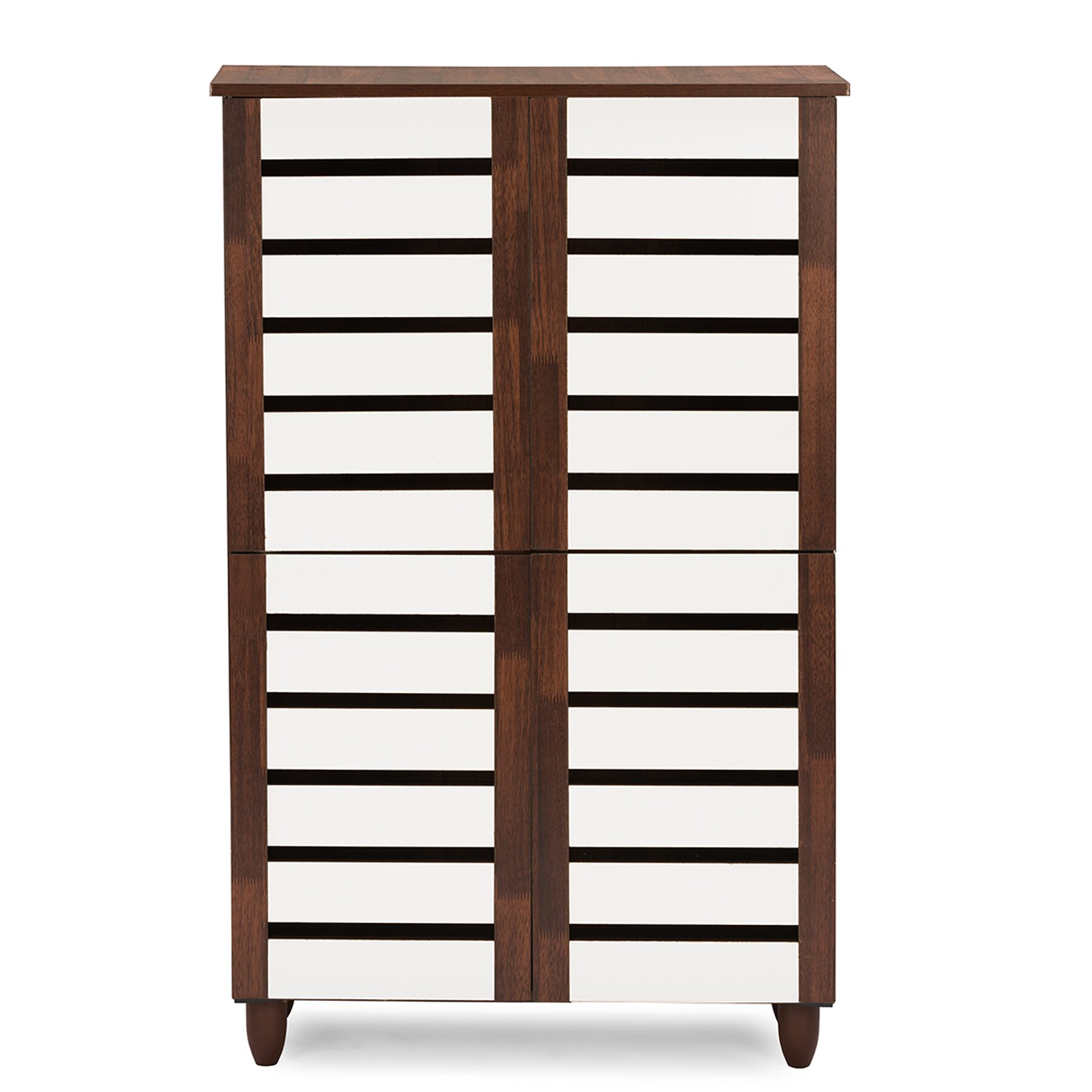 18 Storage Cabinet Wholesale Interiors Baxton Studio Gisela 18 Pair Shoe Storage