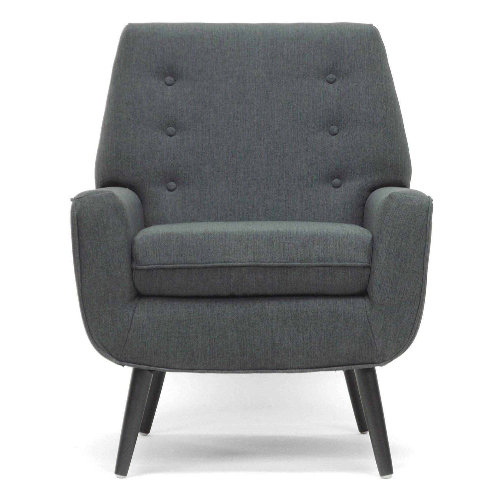 Wholesale Interiors Baxton Studio Levison Modern Arm Chair