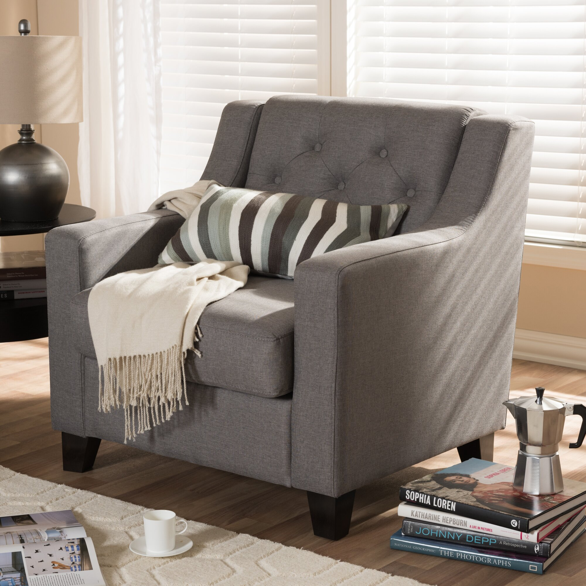 Living Room Couch Set Wholesale Interiors Baxton Studio Silvia 3 Piece Living Room Sofa