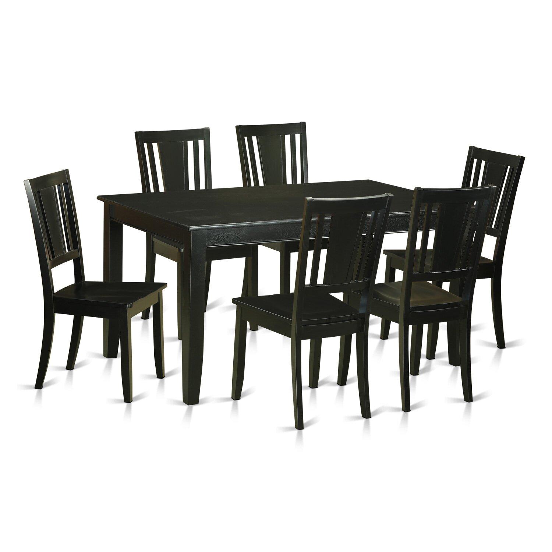 Wooden Importers Avon 7 Piece Dining Set: Wooden Importers Dudley 7 Piece Dining Set & Reviews