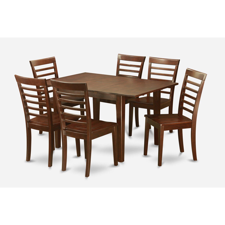 Wooden Importers Avon 7 Piece Dining Set: Wooden Importers Picasso 7 Piece Dining Set & Reviews