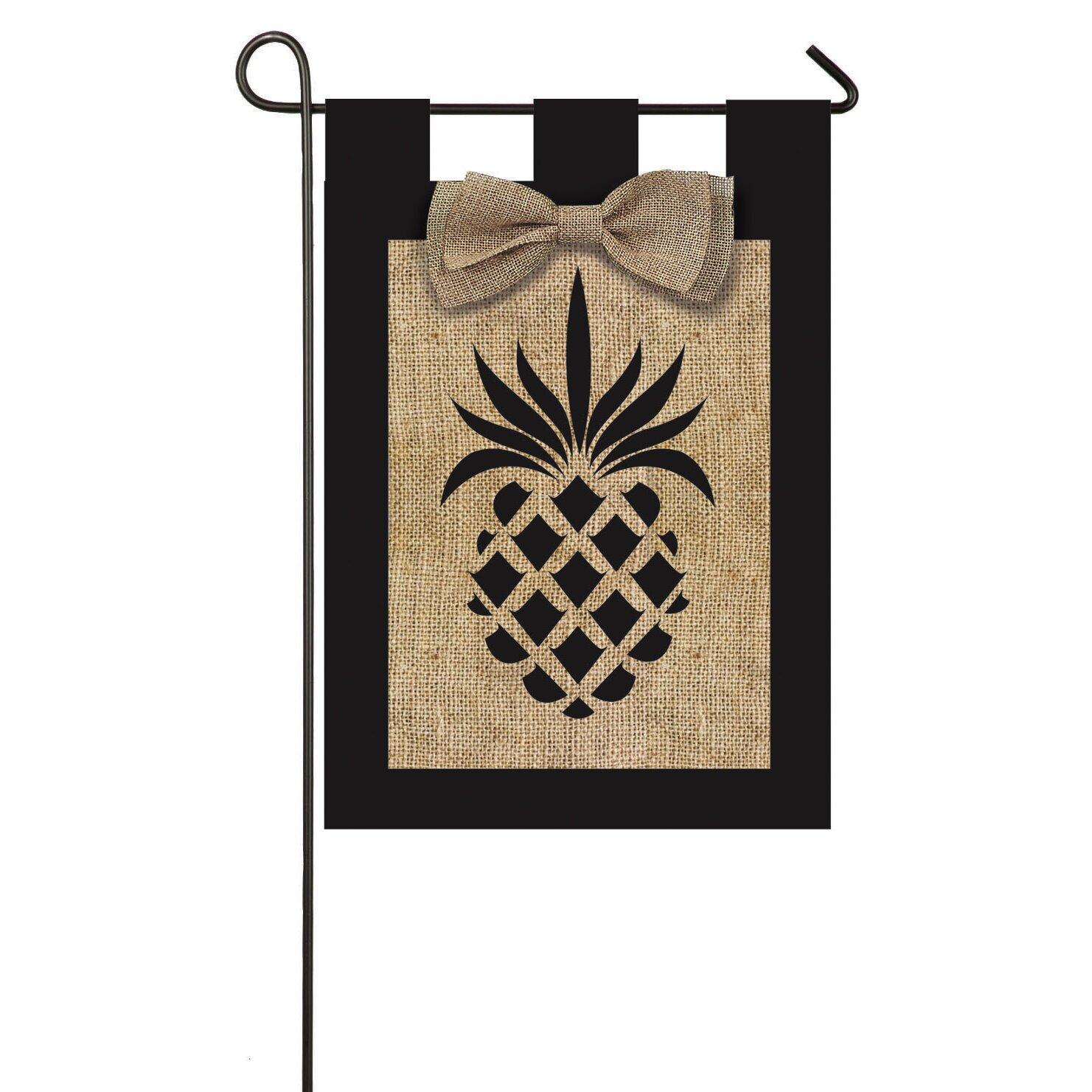 Evergreen Flag Garden Pineapple Garden Flag Reviews Wayfair