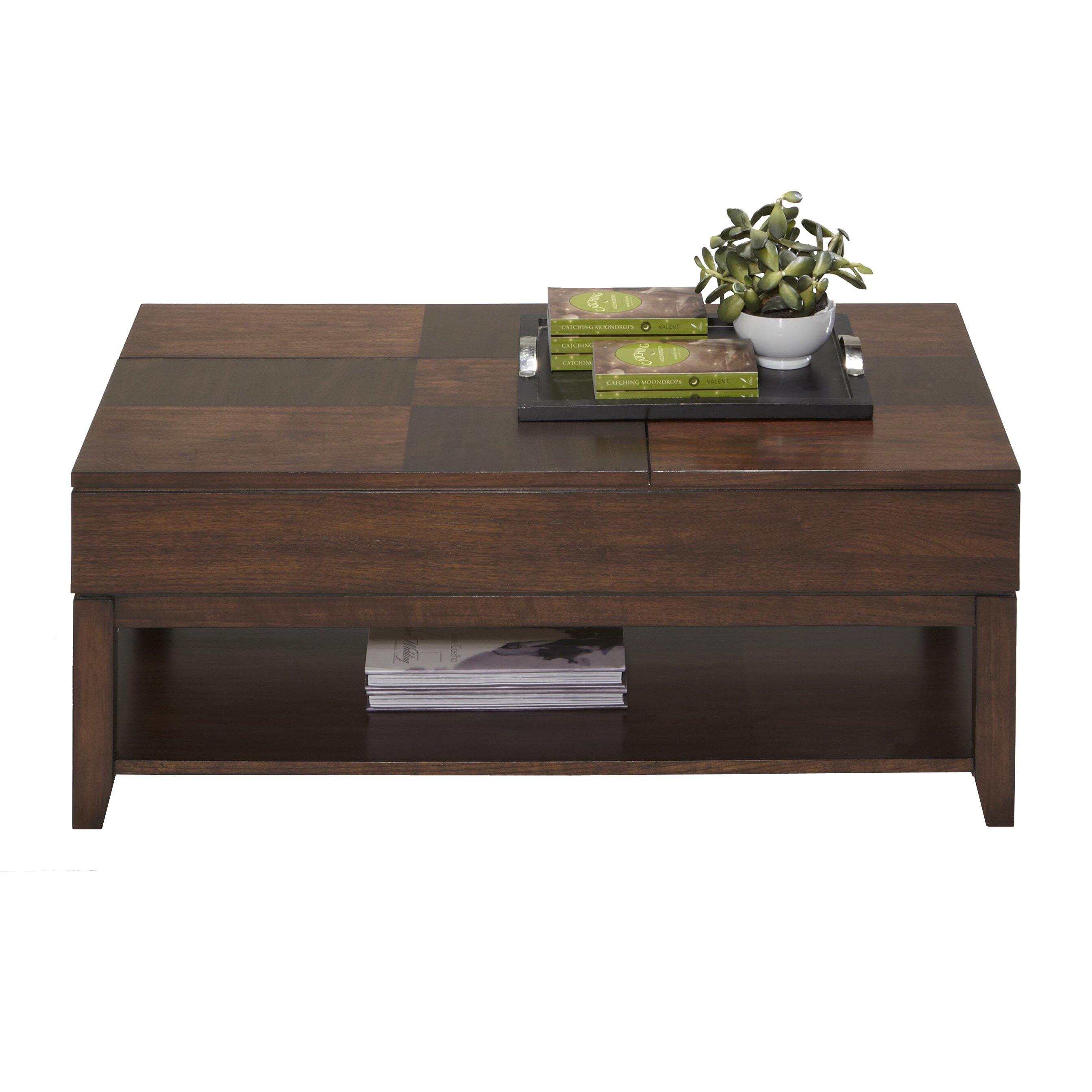 Dual Lift Top Coffee Table Progressive Furniture Daytona Coffee Table With Double Lift Top