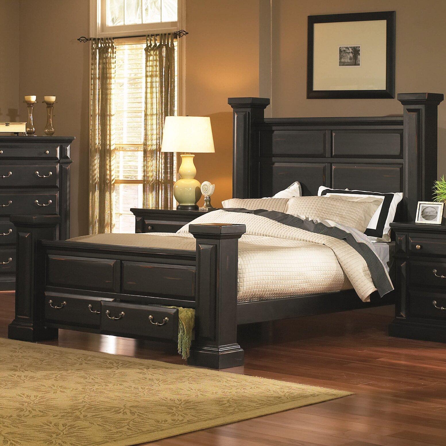 Progressive Bedroom Furniture Progressive Furniture Torreon Panel Customizable Bedroom Set