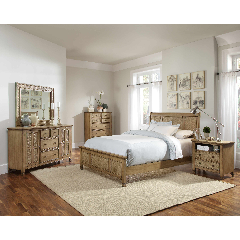 Kingston Bedroom Furniture Progressive Furniture Kingston Isle Panel Customizable Bedroom Set