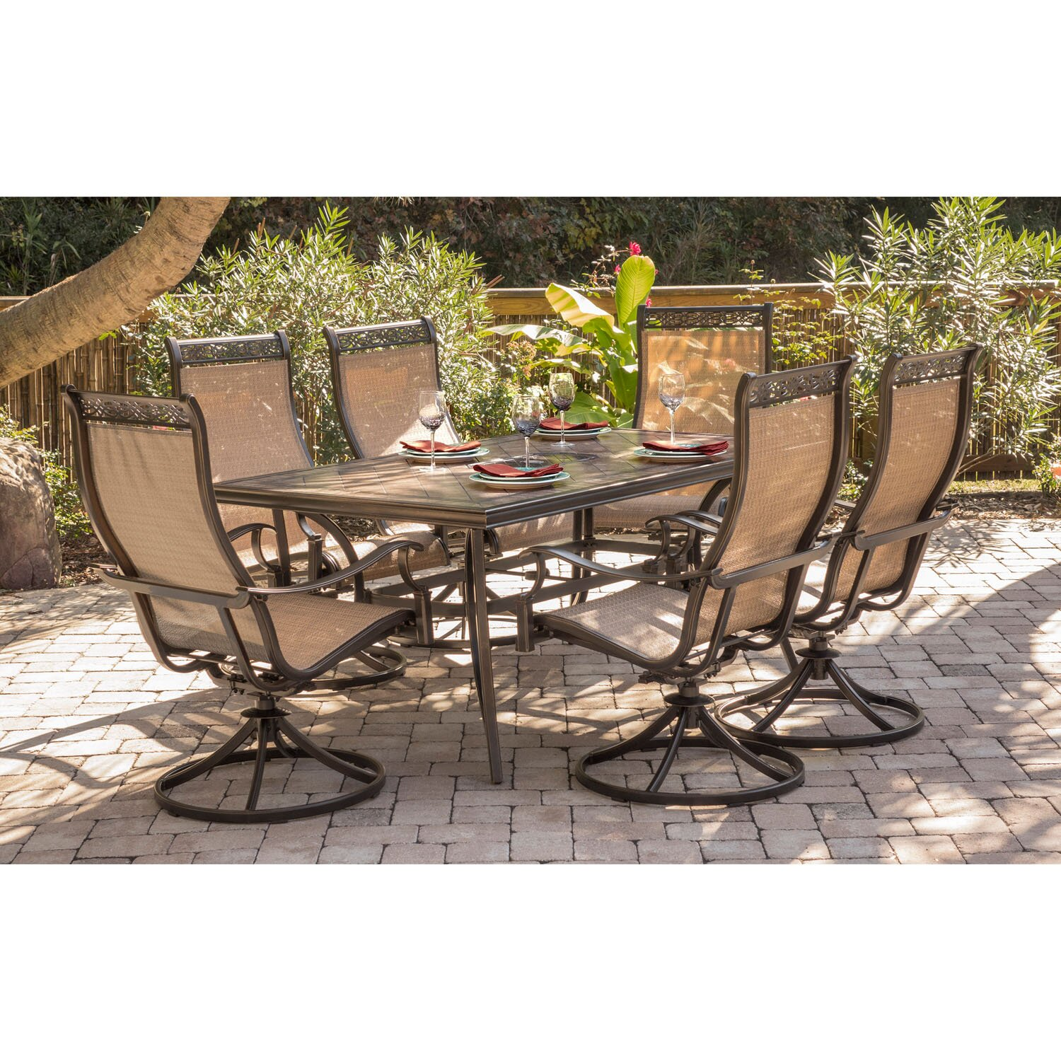 Monroe 7piece Dining Set & Reviews  Joss & Main. Octagon Patio Table Glass. Patio Furniture Pillows Covers. Round Patio Table Big Lots. Patio Furniture Ottomans. Ideas For Patio With Fireplace. Contemporary Patio Furniture Dallas. Paint Mesh Patio Furniture. Patio Furniture From Pallets Plans