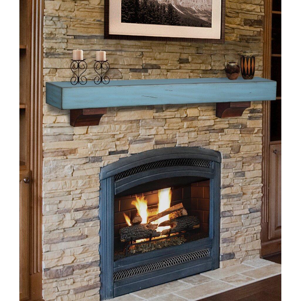 Pearl Mantels Shenandoah Fireplace Mantel Shelf - Pearl Mantels Shenandoah Fireplace Mantel Shelf Wayfair